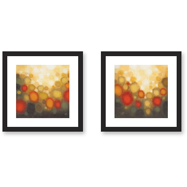 Shop Gallery Direct Sean Jacobs \'Garden Party\' 2-piece Framed Art ...