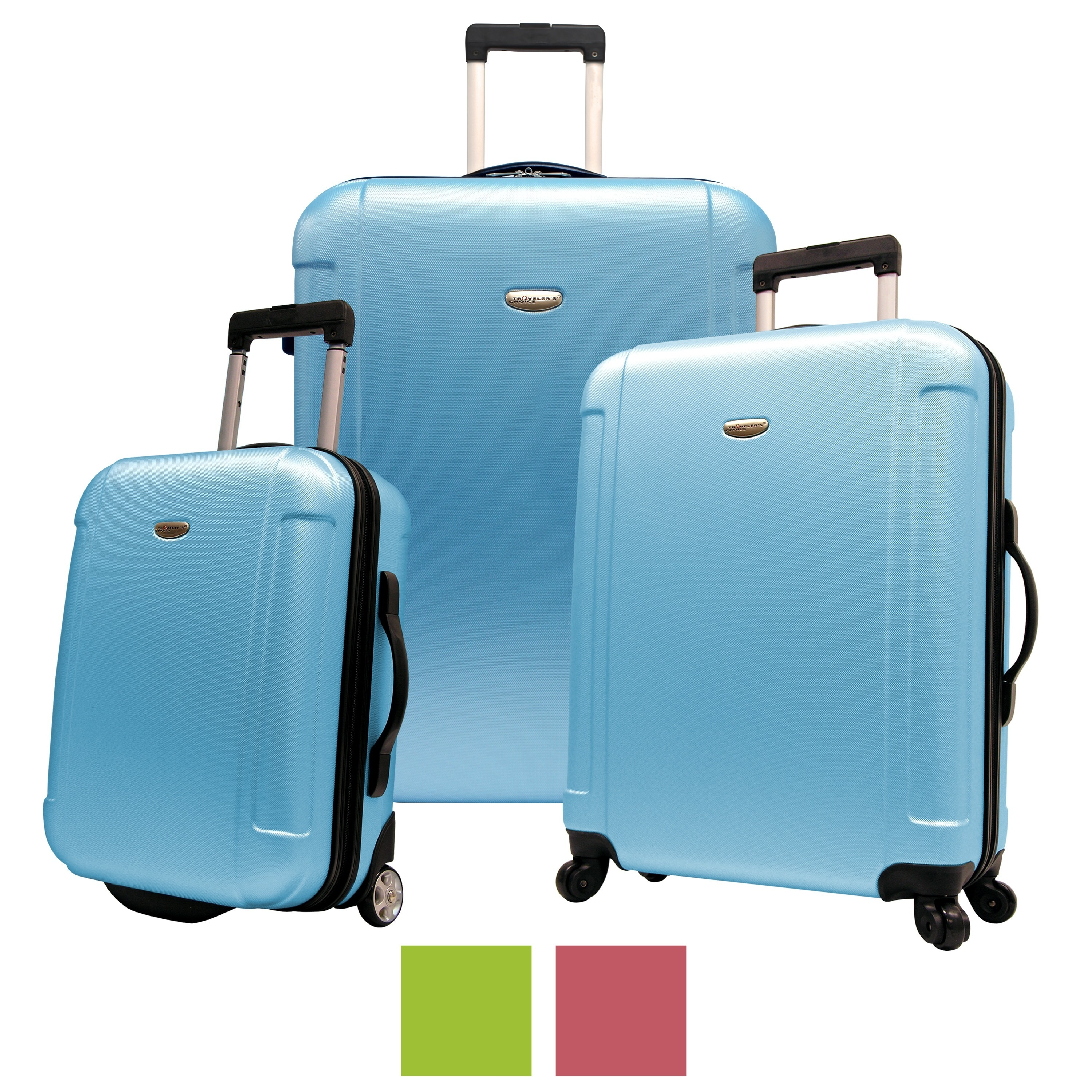 Top Product Reviews for Traveler\'s Choice Freedom 3-piece Hardside ...