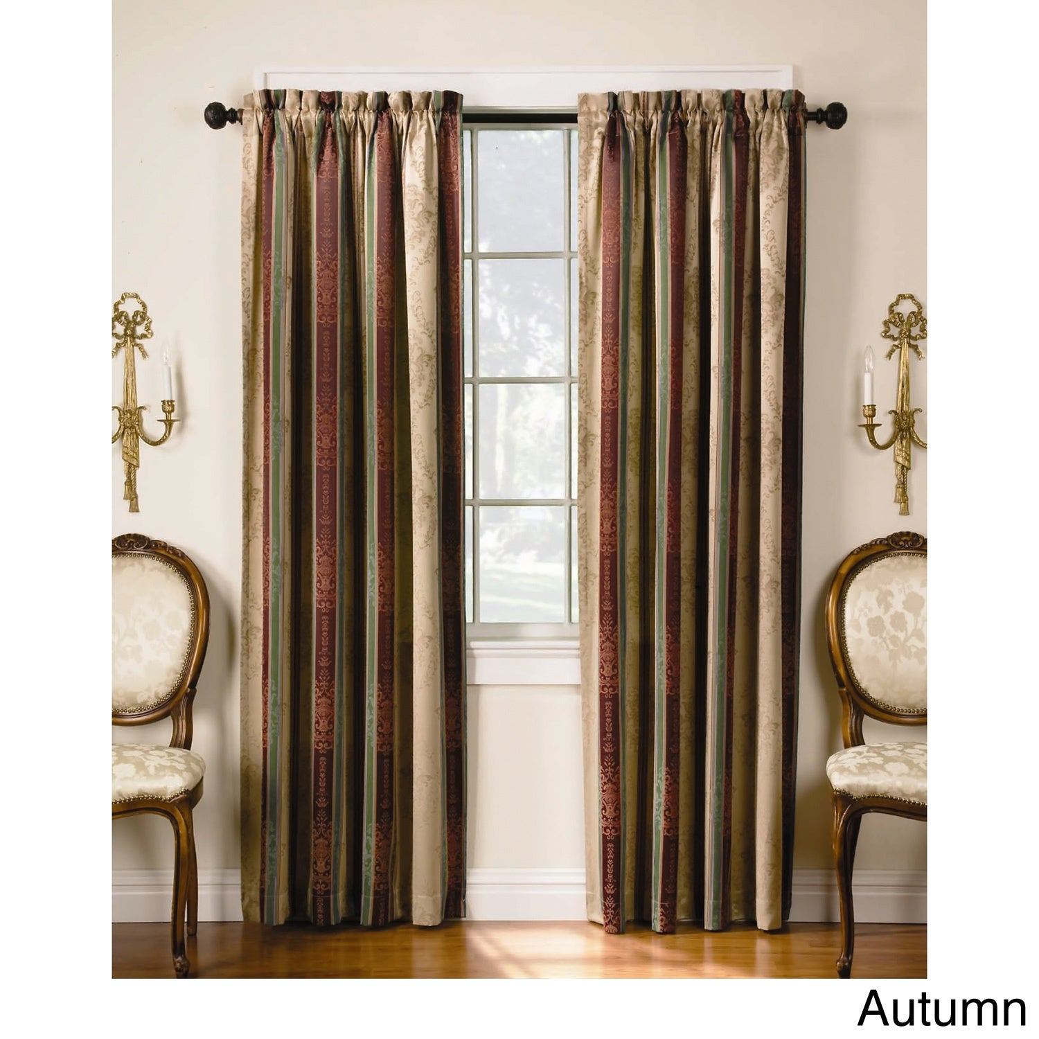 Tuscan Thermal Backed Blackout Curtain Panel Pair - Free Shipping ...