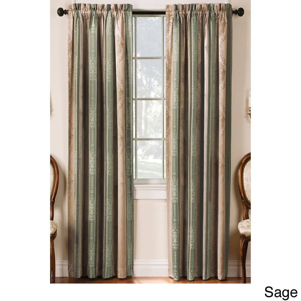 Shop Tuscan Thermal Backed Blackout Curtain Panel Pair - Free ...