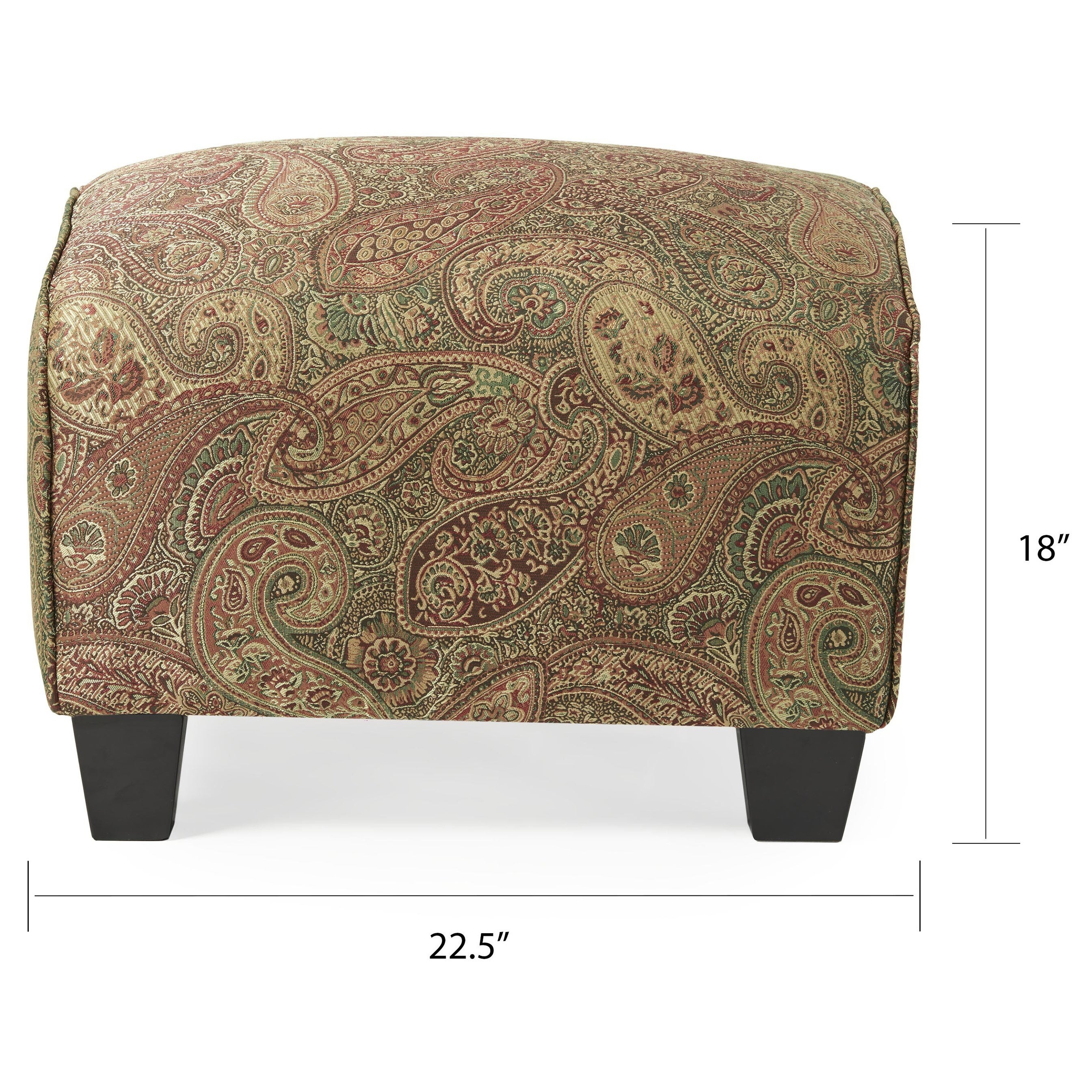 overstock chairs shipping free home chair elijah product ottoman garden today mid and set ottomans gray simple century living