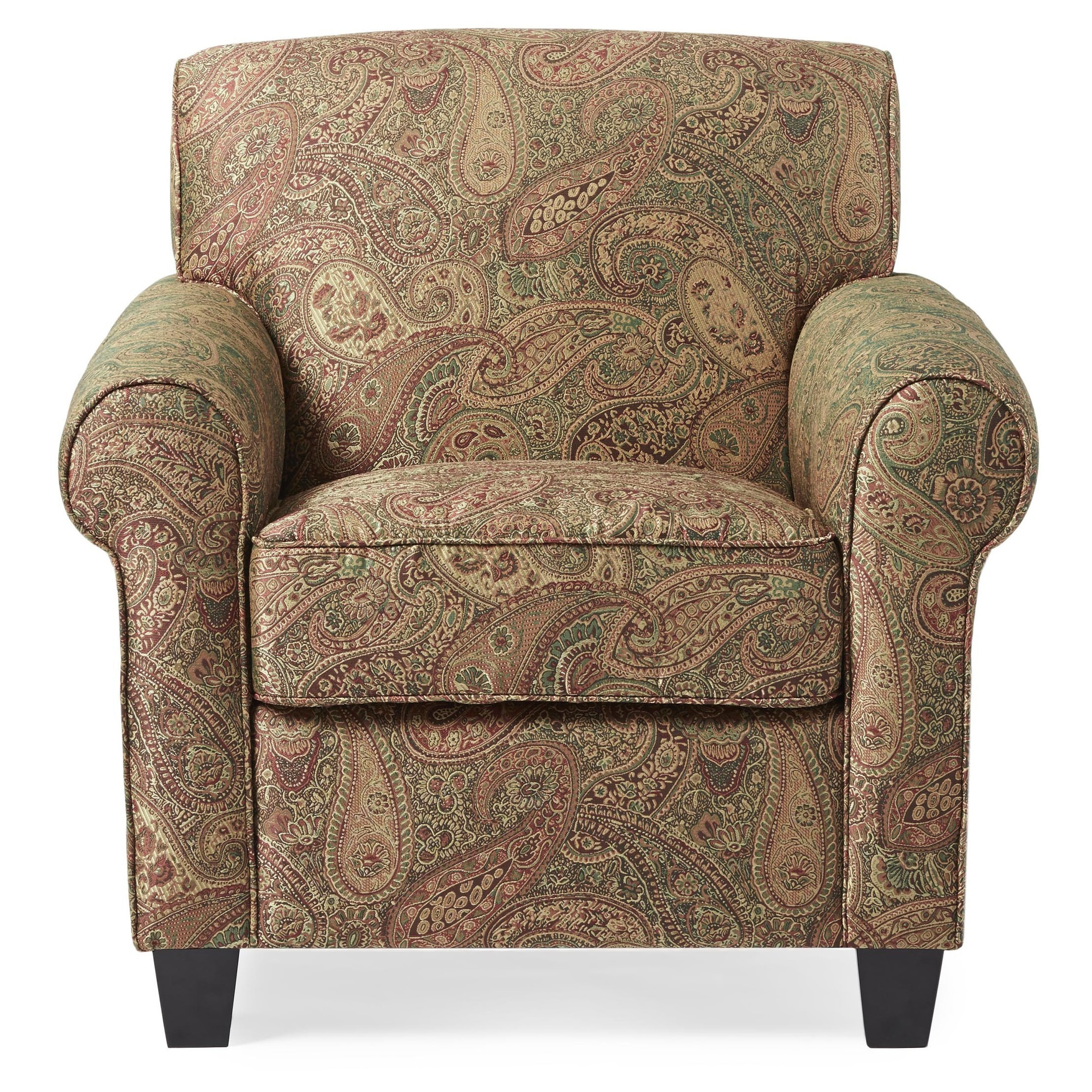 Shop Handy Living Mira 8 Way Hand Tied Paisley Arm Chair And Ottoman   On  Sale   Free Shipping Today   Overstock.com   3348501