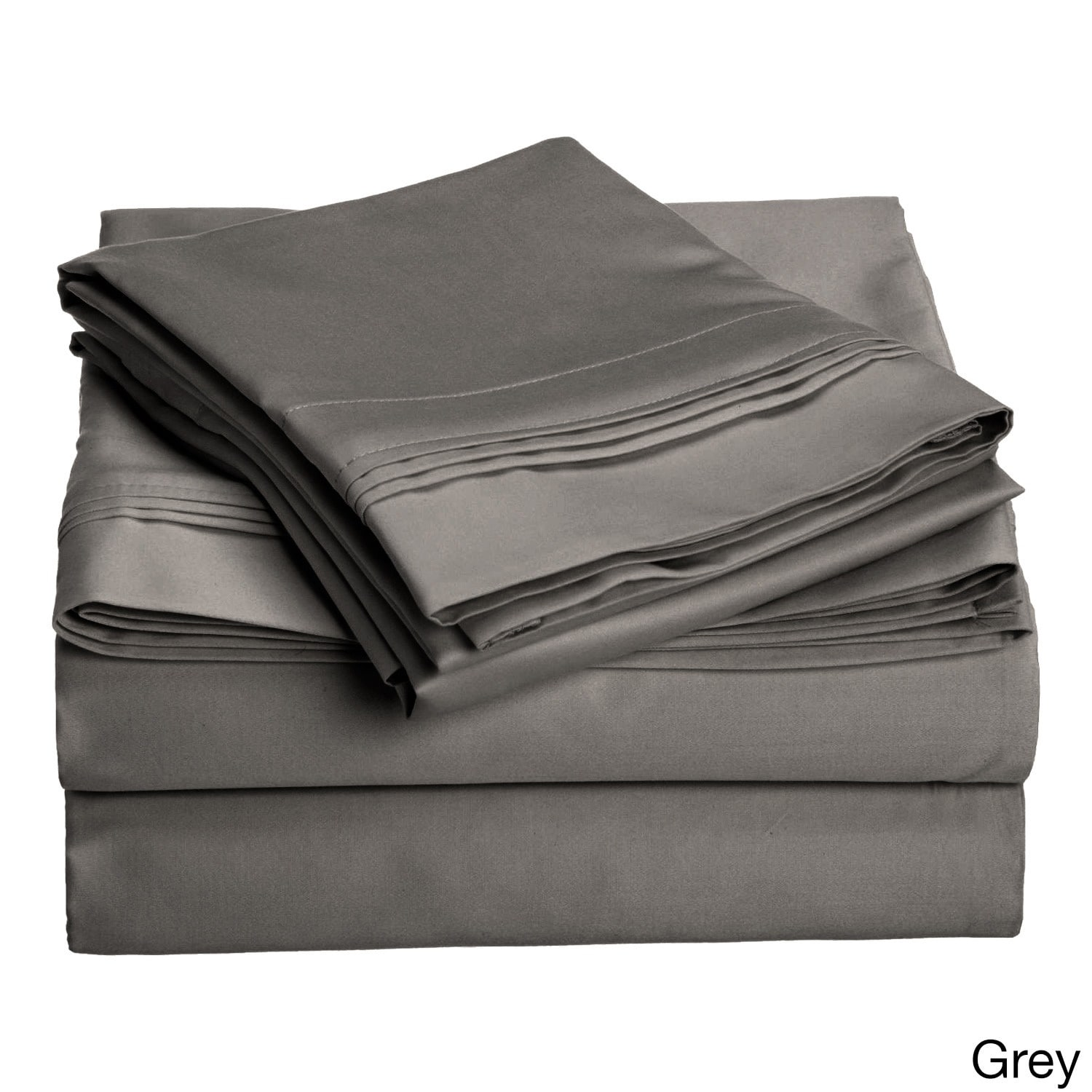 Superior Egyptian Cotton 1500 Thread Count Solid Deep Pocket Sheet