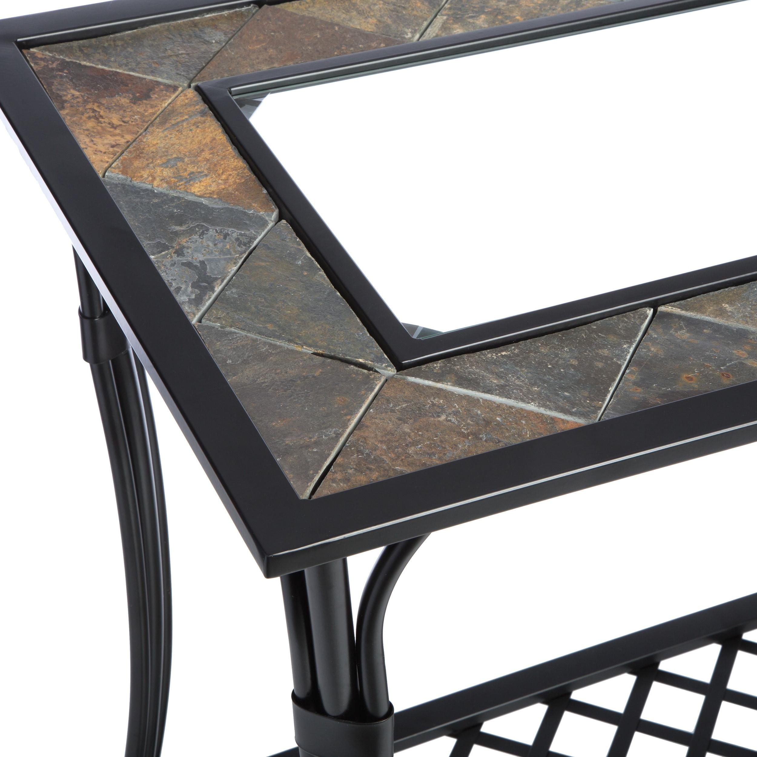 Copper grove slate glass steel sofa table free shipping today copper grove slate glass steel sofa table free shipping today overstock 11446690 watchthetrailerfo