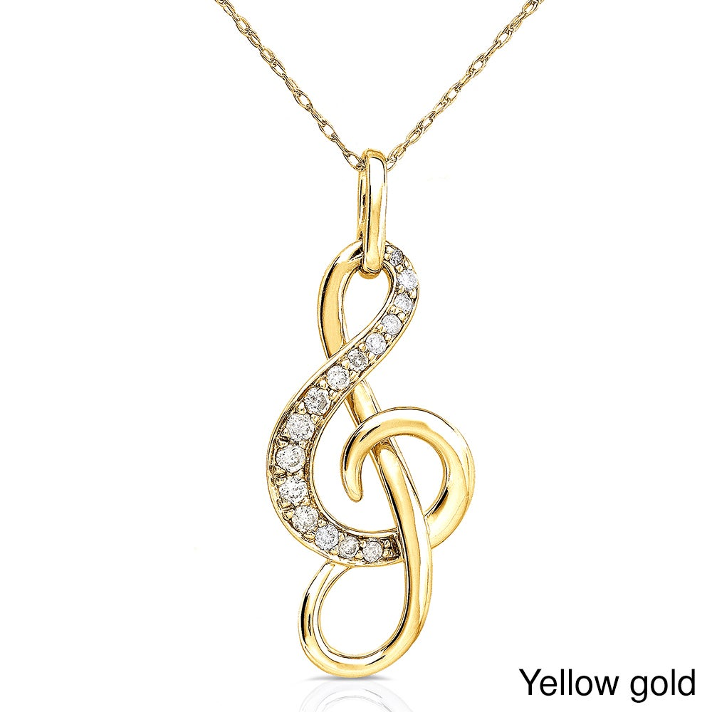 note tradesy marco white pendant i necklace design b musical heart