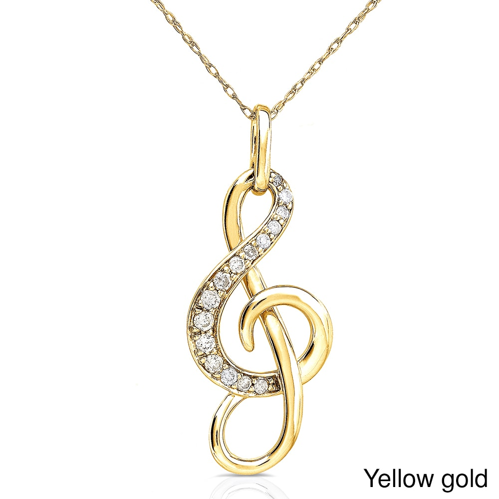 treble or products gold all clef pendant sterling musical jewellery note silver ogham s collections