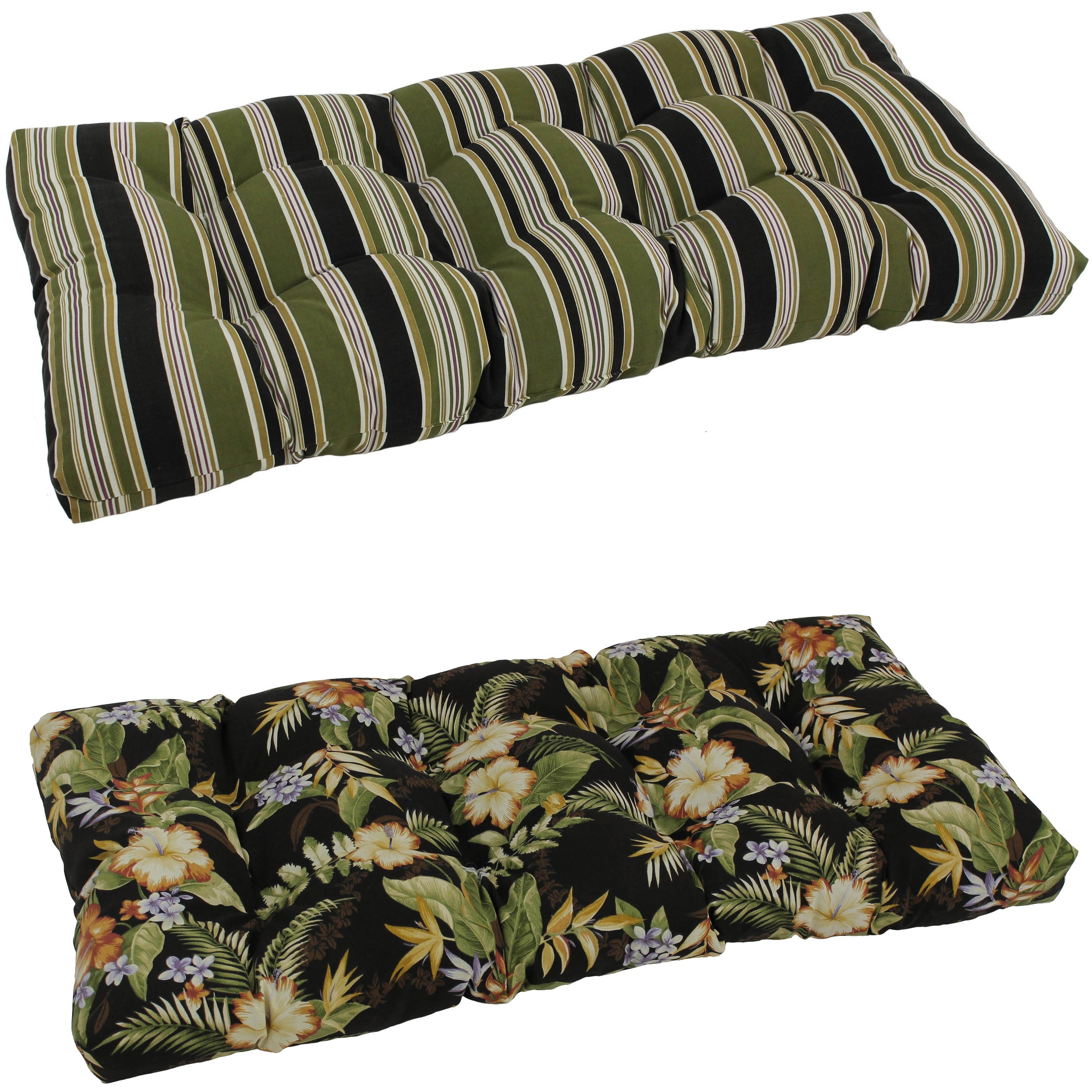 humble sunbrella haute overstock bench shipping garden today colorful product free by outdoor indoor to stripe inch home cushion
