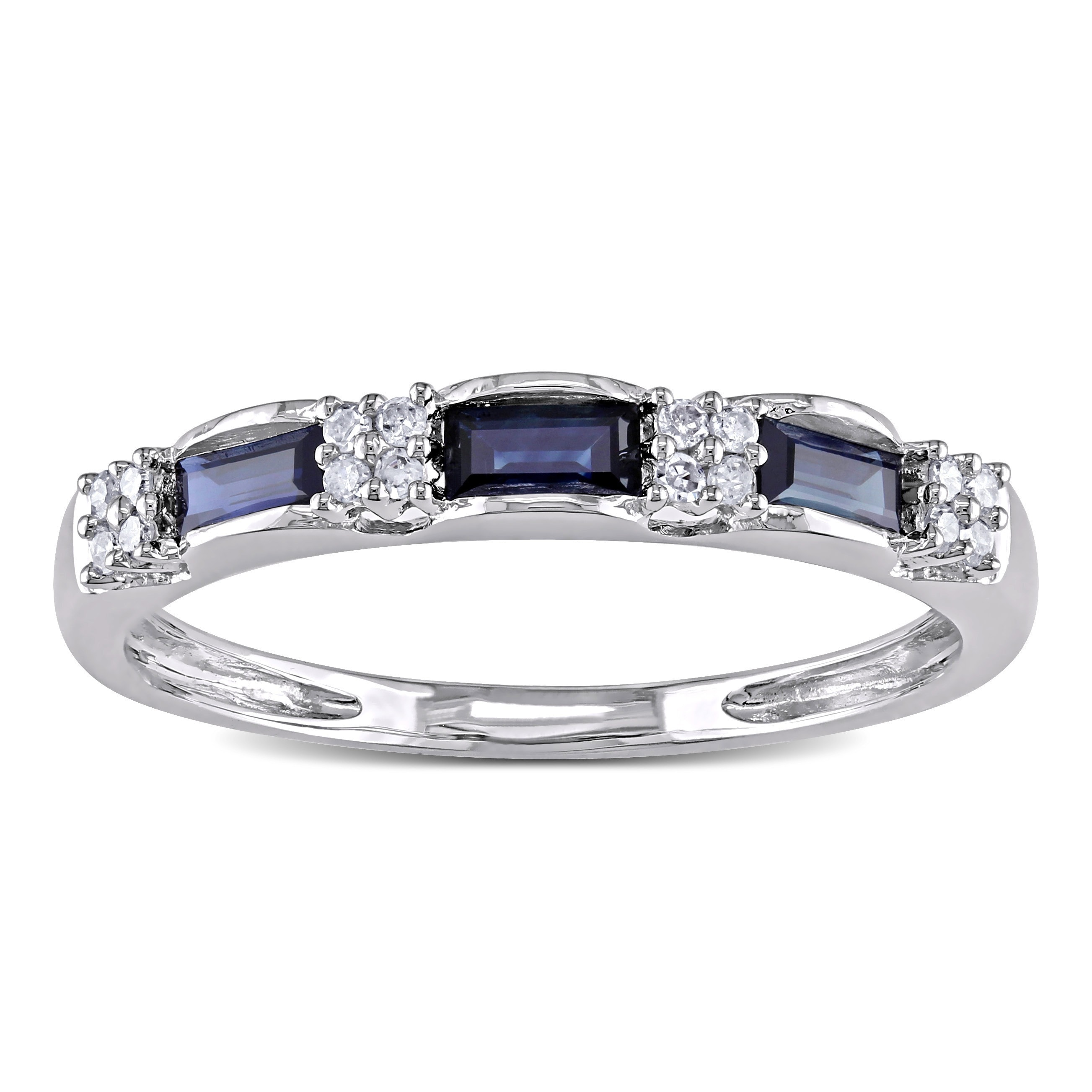 item amid fine of shape sapphire this carats flank mcclelland bands round stone dazzle shapes diamond platinum the blue two a weighing f diamonds three mcteigue sets oval ring thread pear and