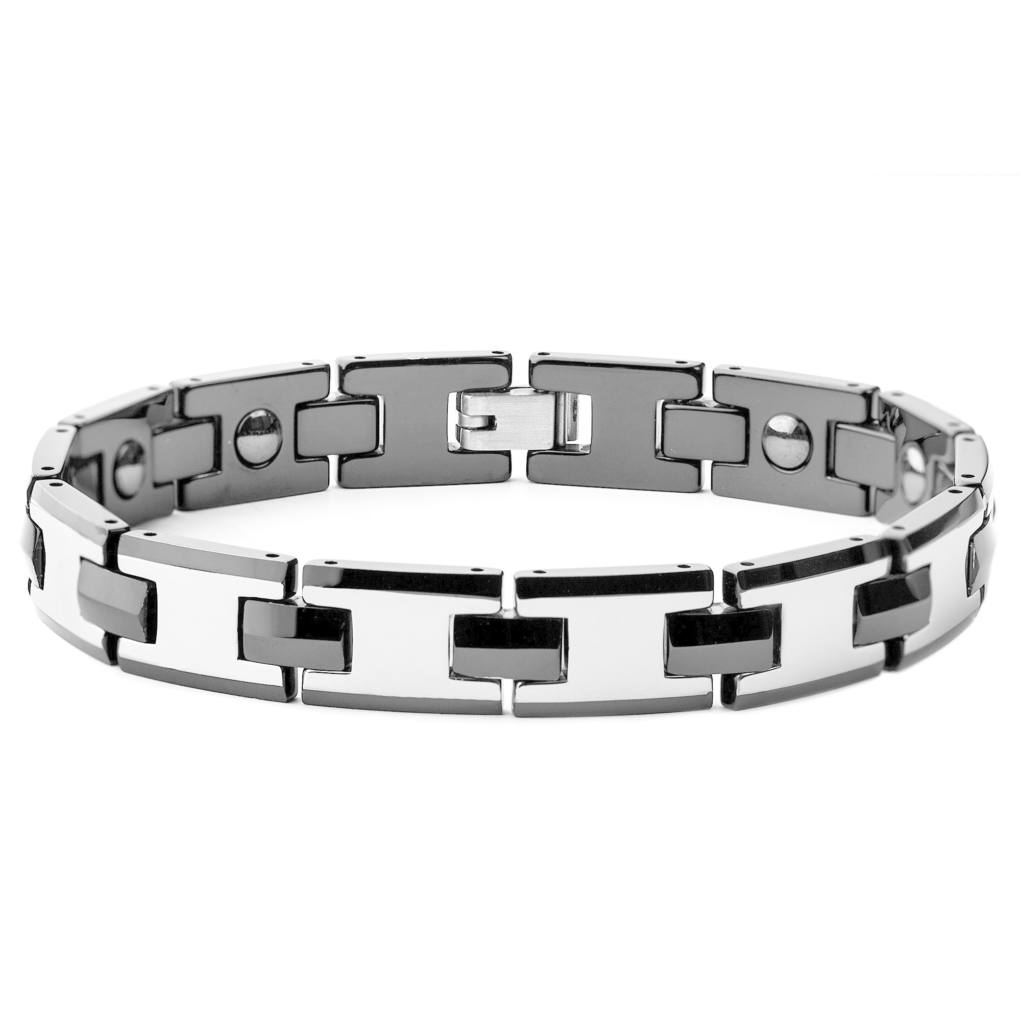 kelvin magnetic tungsten tough bracelet healthcare bead b gems mens productdetail