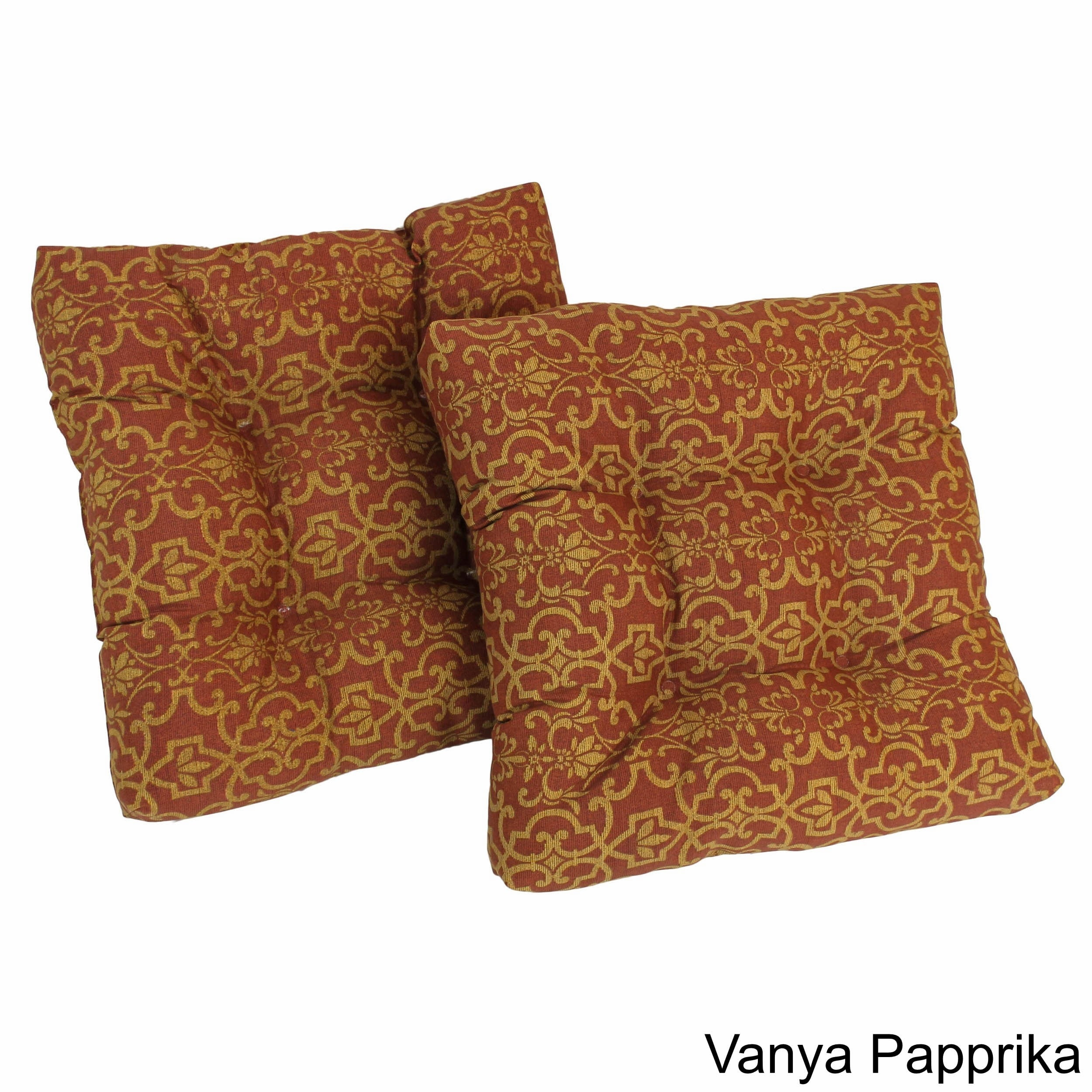Outdoor Square Chair Cushions Set Of 2