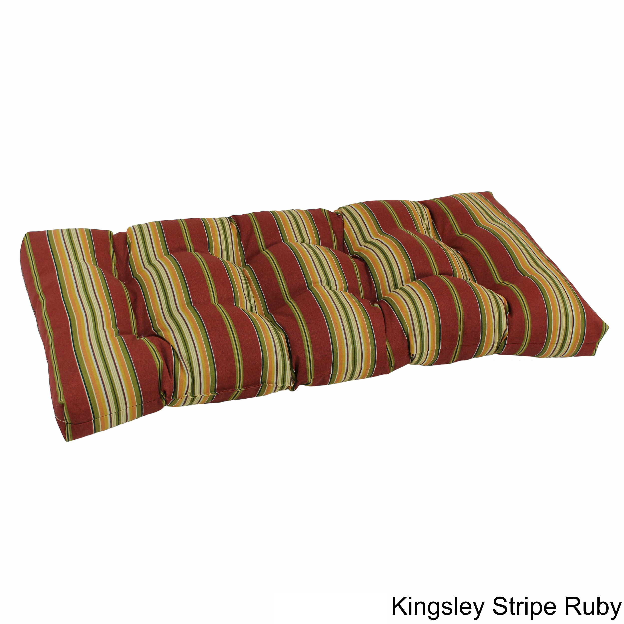 Outdoor Loveseat Bench Cushion Free Shipping Today Overstock