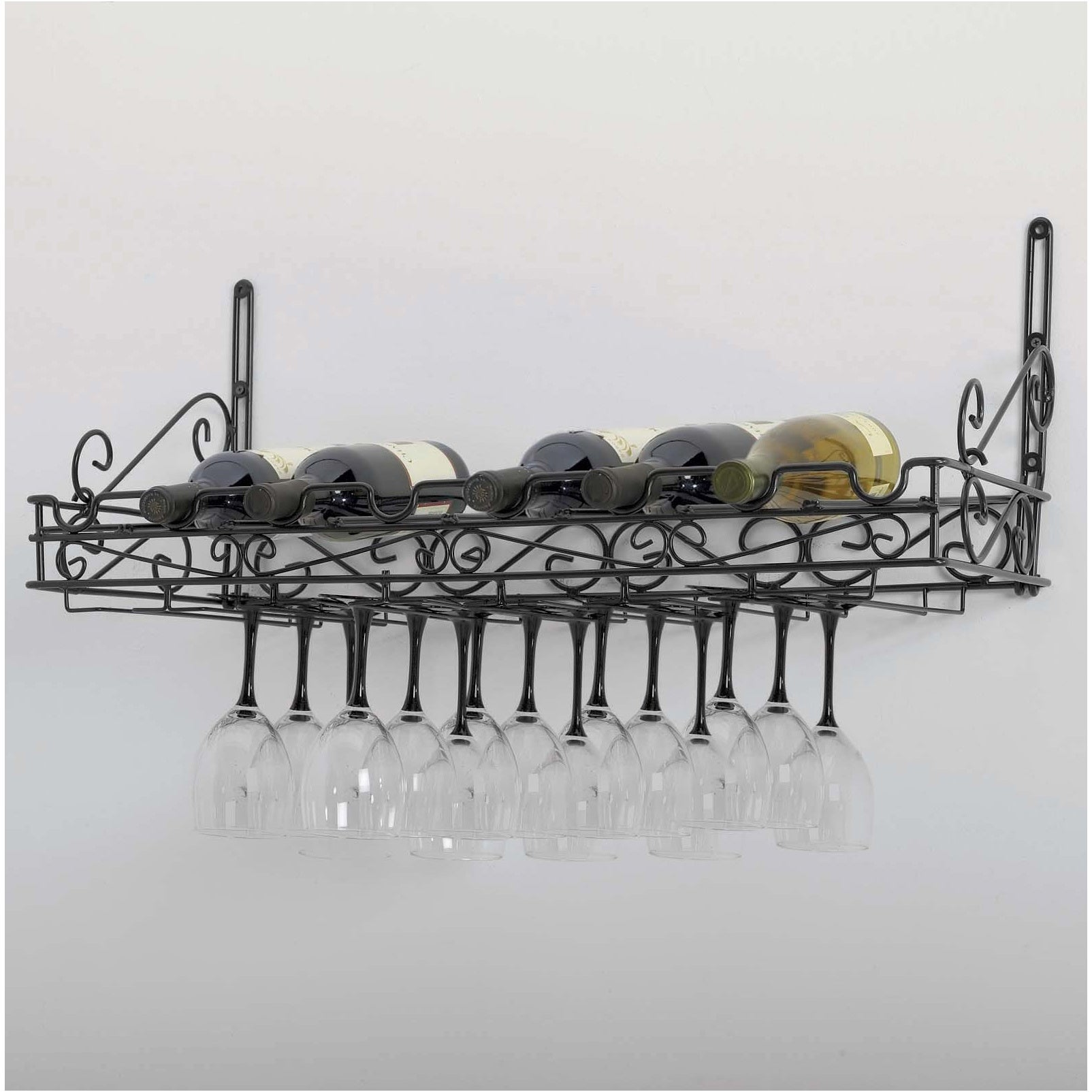 Metal Wine Wall Rack  Free Shipping On Orders Over