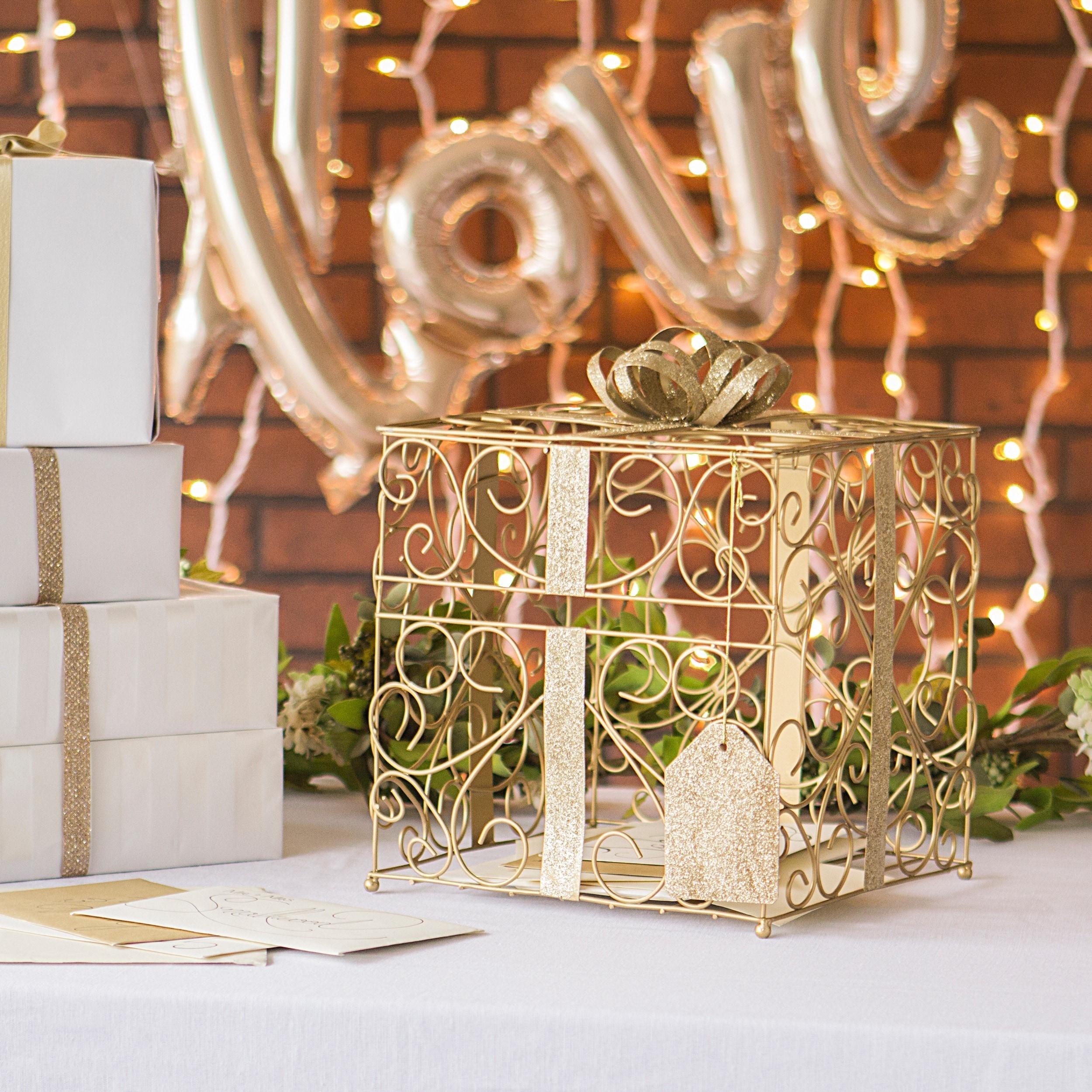 Gift card holder wedding reception