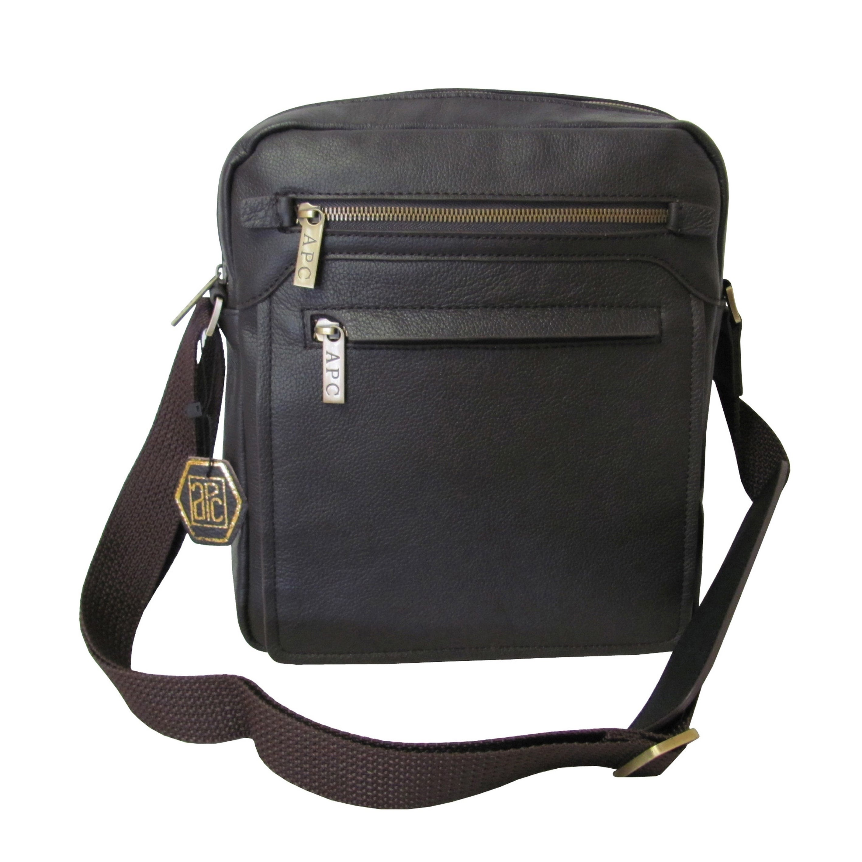Shop Amerileather Front Flap Leather Women s Messenger Bag with Key Lock - Free  Shipping Today - Overstock.com - 3430500 1c915948b3