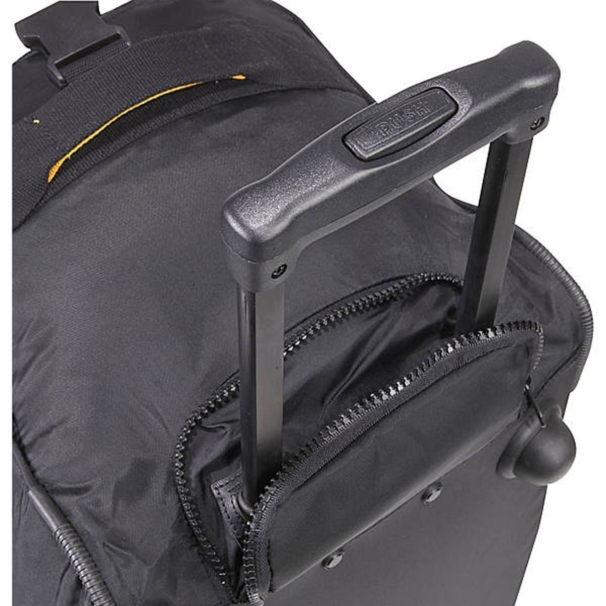 857be2708bff Shop A.Saks Lightweight Expandable 20-inch Carry-On Rolling Duffel - Free  Shipping Today - Overstock - 3439990