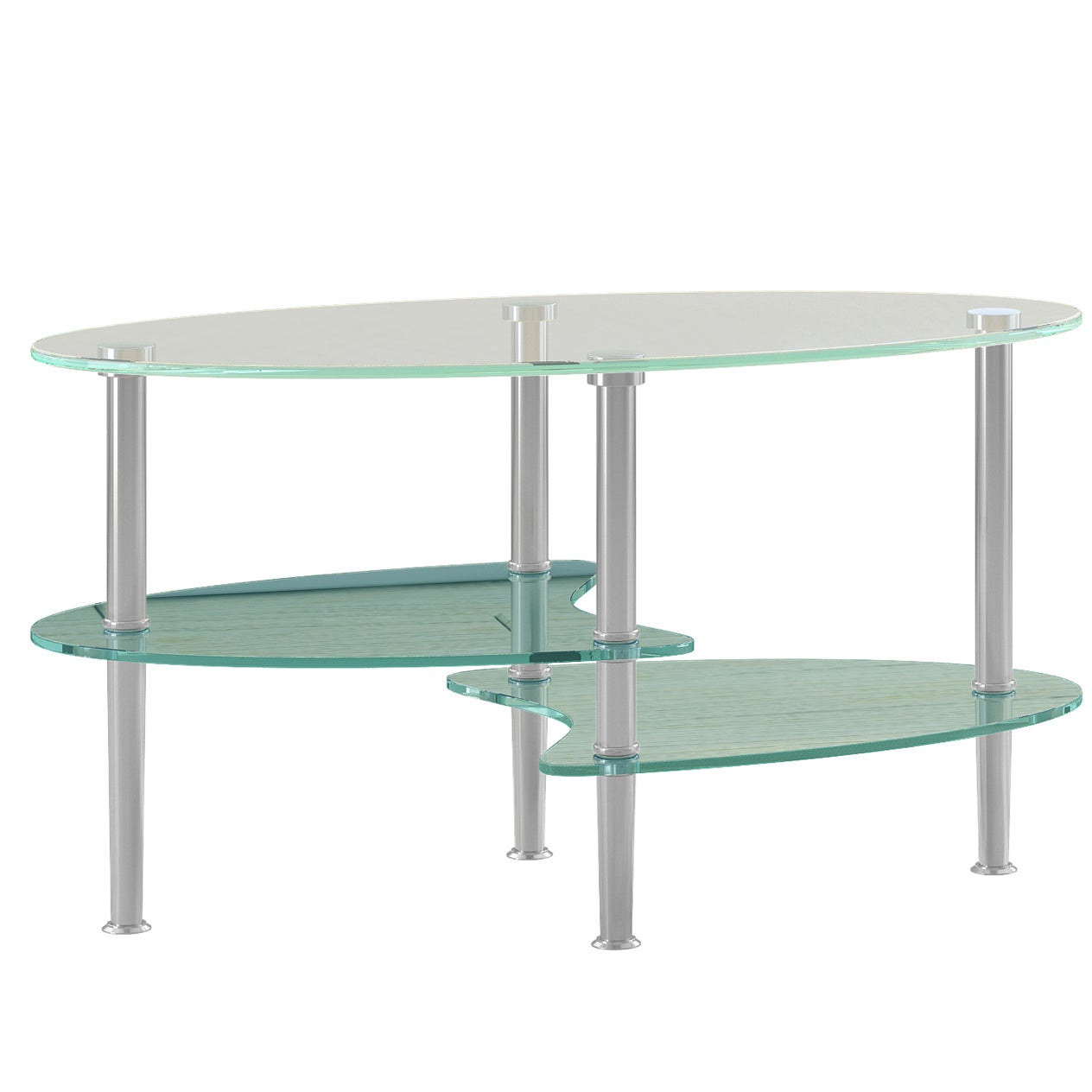 modern frosted glass inch coffee table  free shipping today  - modern frosted glass inch coffee table  free shipping today overstockcom