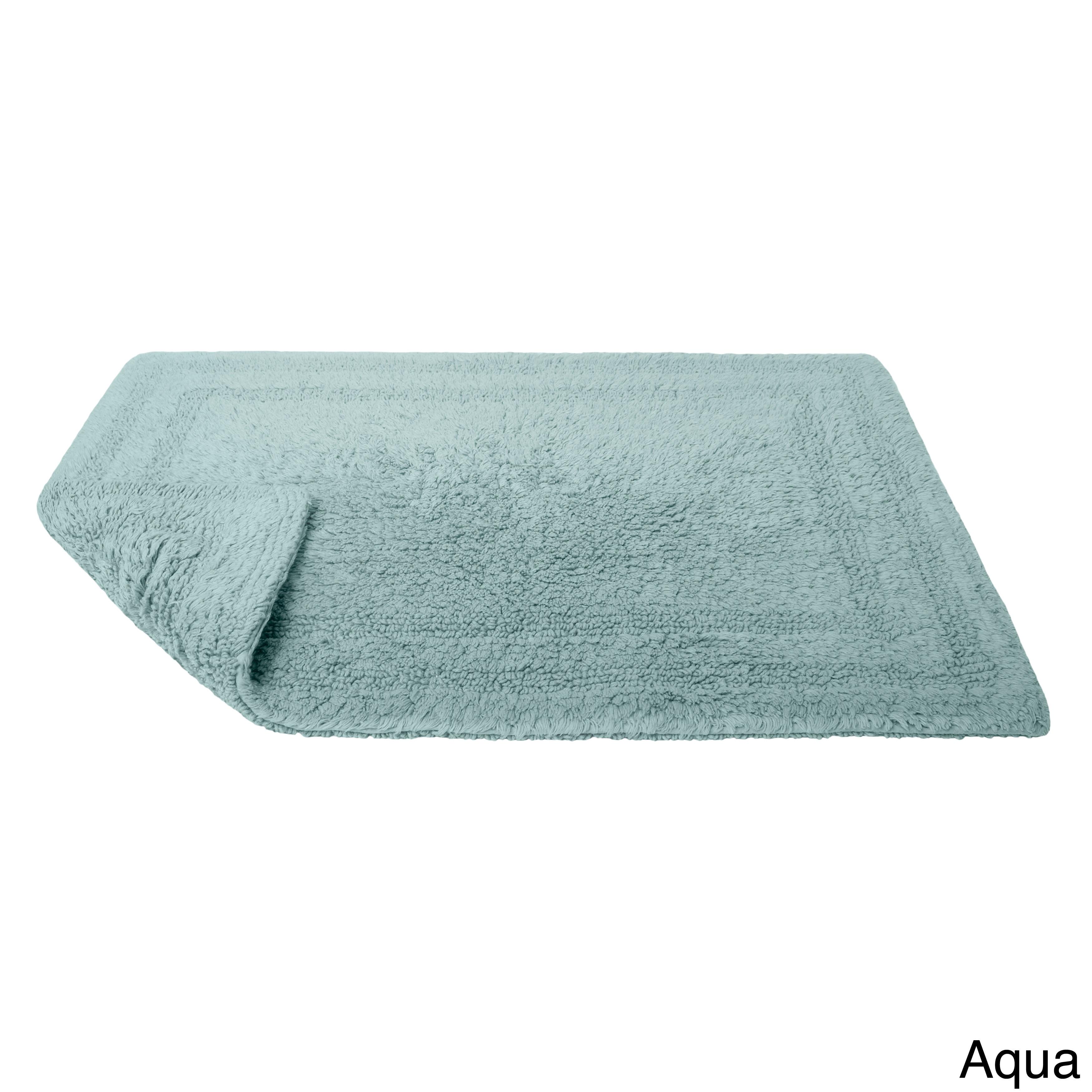 Cotton Reversible Bath Rug 24 X 34