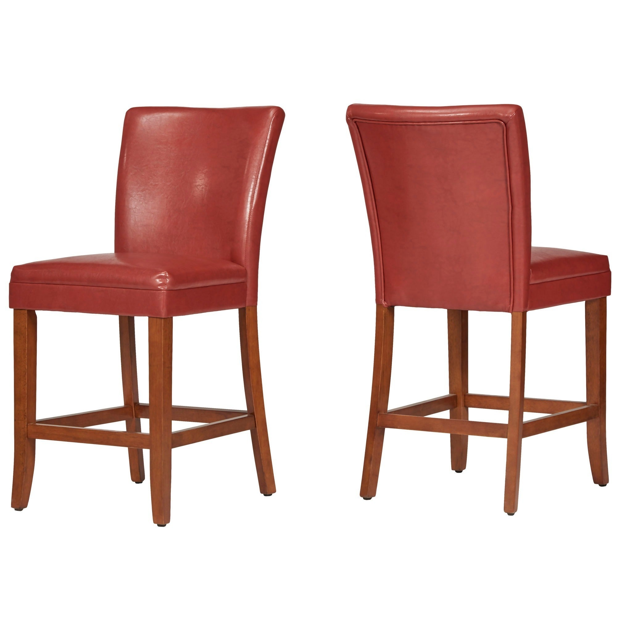 Parson Classic Upholstered Counter Height High Back Chairs (Set Of 2) By  INSPIRE Q Bold   Free Shipping Today   Overstock.com   11543022