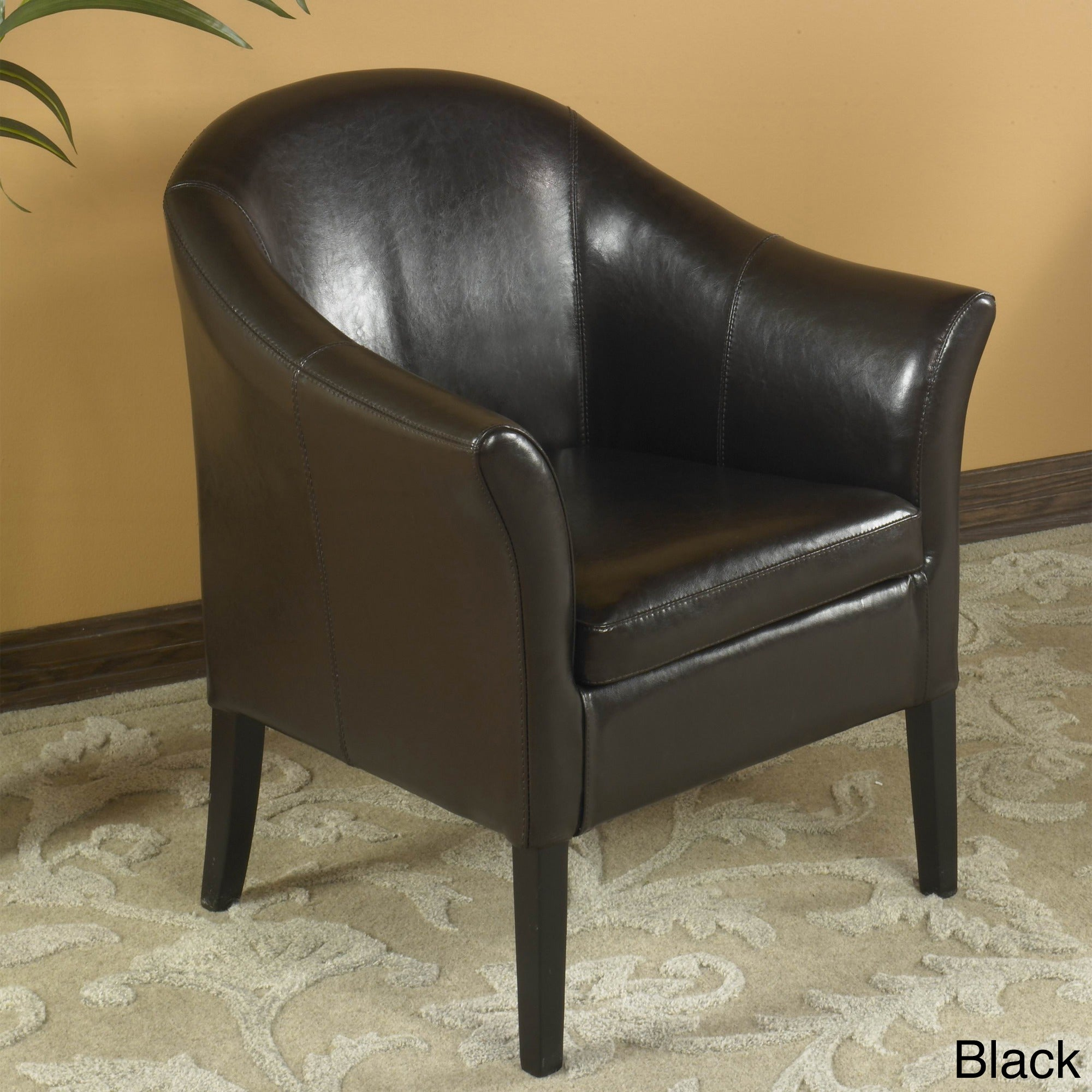 Bicast Leather Club Chair - Free Shipping Today - Overstock.com - 11545230