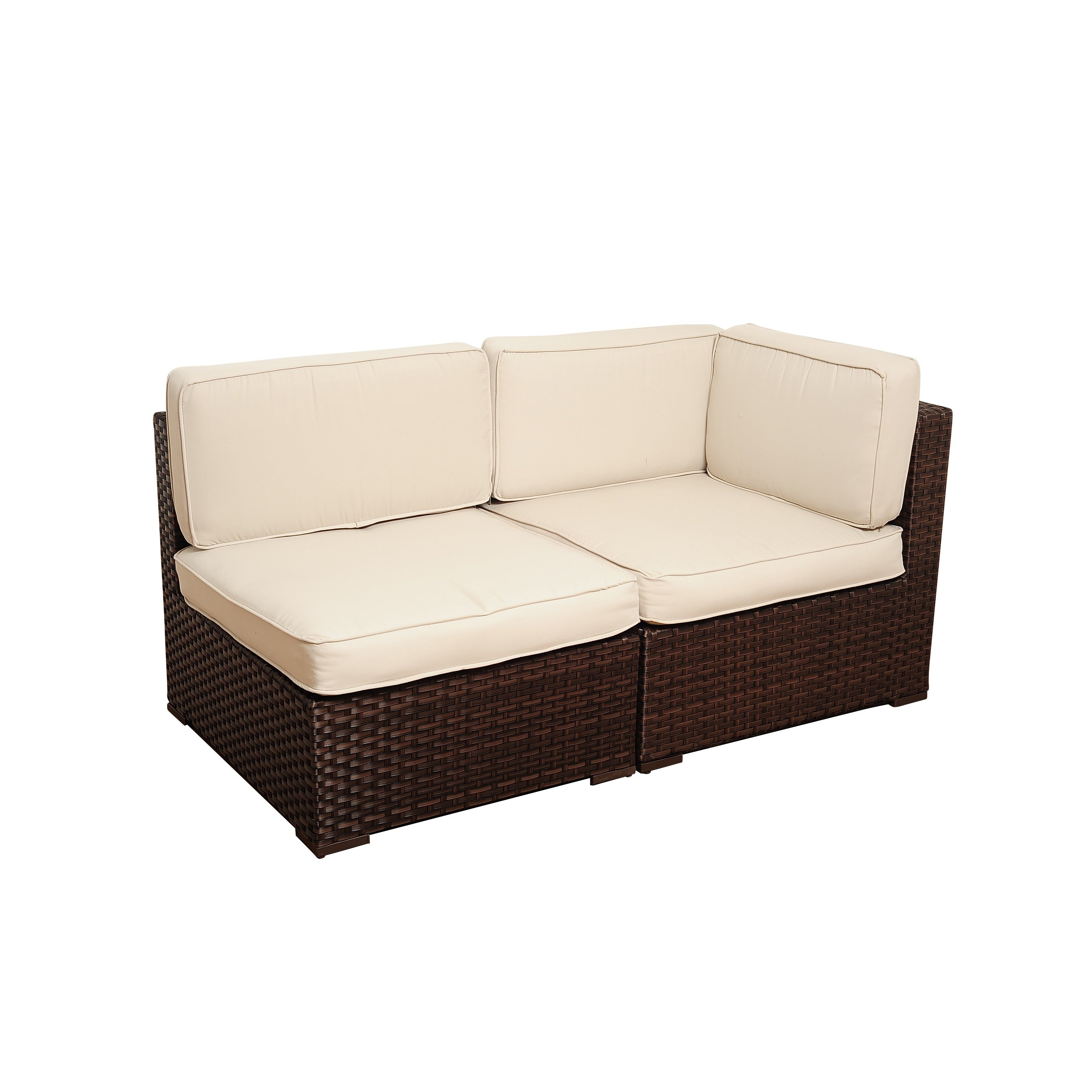 Atlantic Milano 10 Piece Patio Furniture Set Free Shipping Today  ~ Patio Sofa And Loveseat