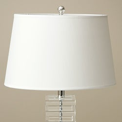 Shop Stacked Cubes Crystal Table Lamp Free Shipping Today