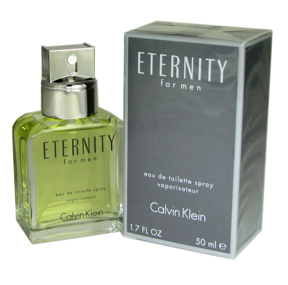 Shop Calvin Klein Eternity Mens 17 Ounce Eau De Toilette Spray Man Free Shipping On Orders Over 45 3500851