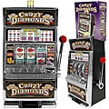 Crazy Diamonds Slot Machine Bank - Replica