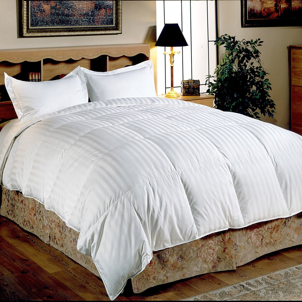 Hotel Grand Oversized 500 Thread Count Medium Warmth Siberian White Down Comforter On Free Shipping Today 3507122