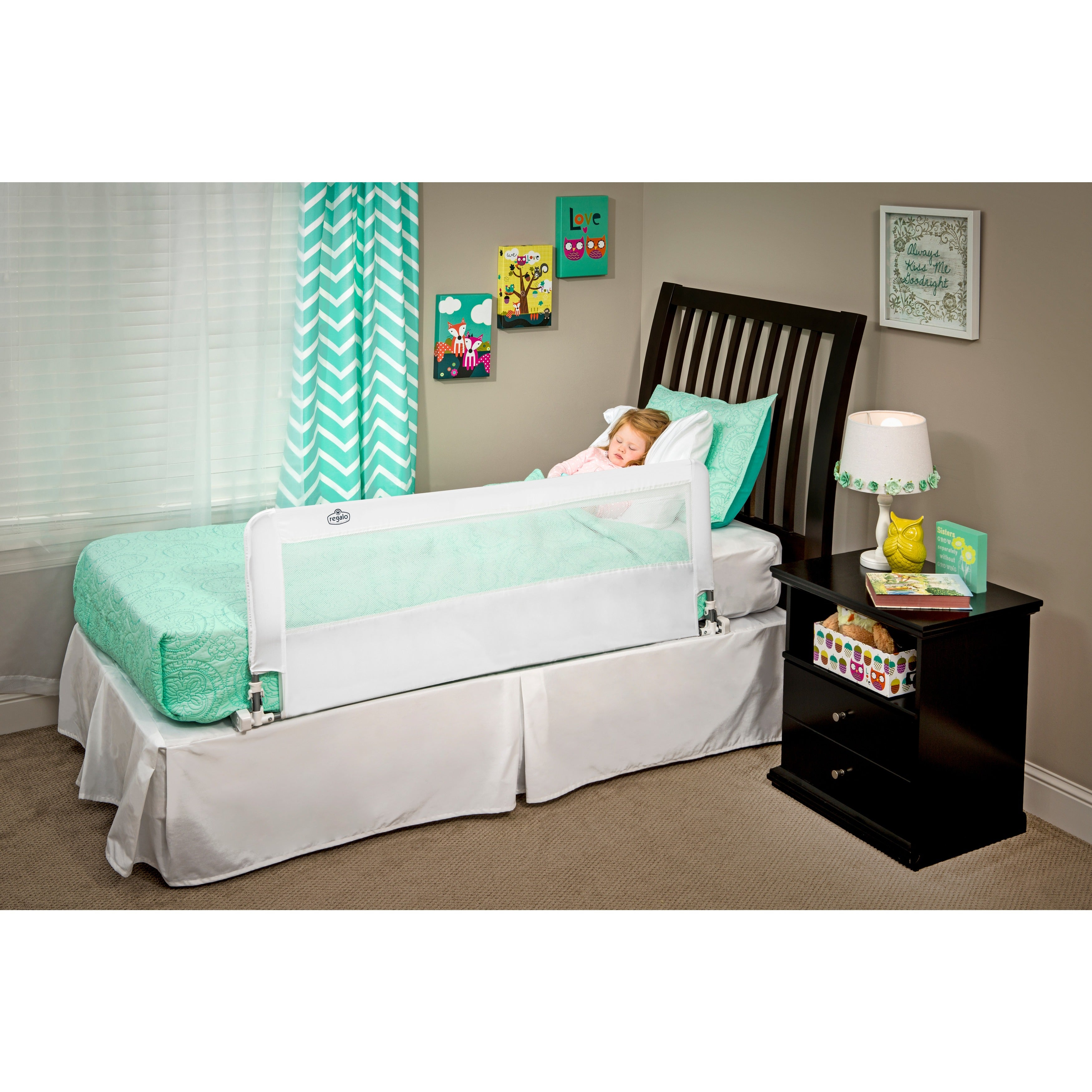 Shop Regalo Hide Away Extra Long Bed Rail Free Shipping On Orders Summer Infant Double Blue Over 45 3515662