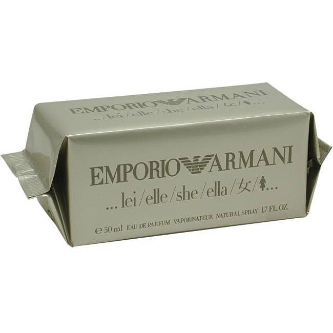 4df5f4d90 Shop Emporio Armani She Women's 1.7-ounce Eau de Parfum Spray - Free  Shipping On Orders Over $45 - Overstock - 3542320