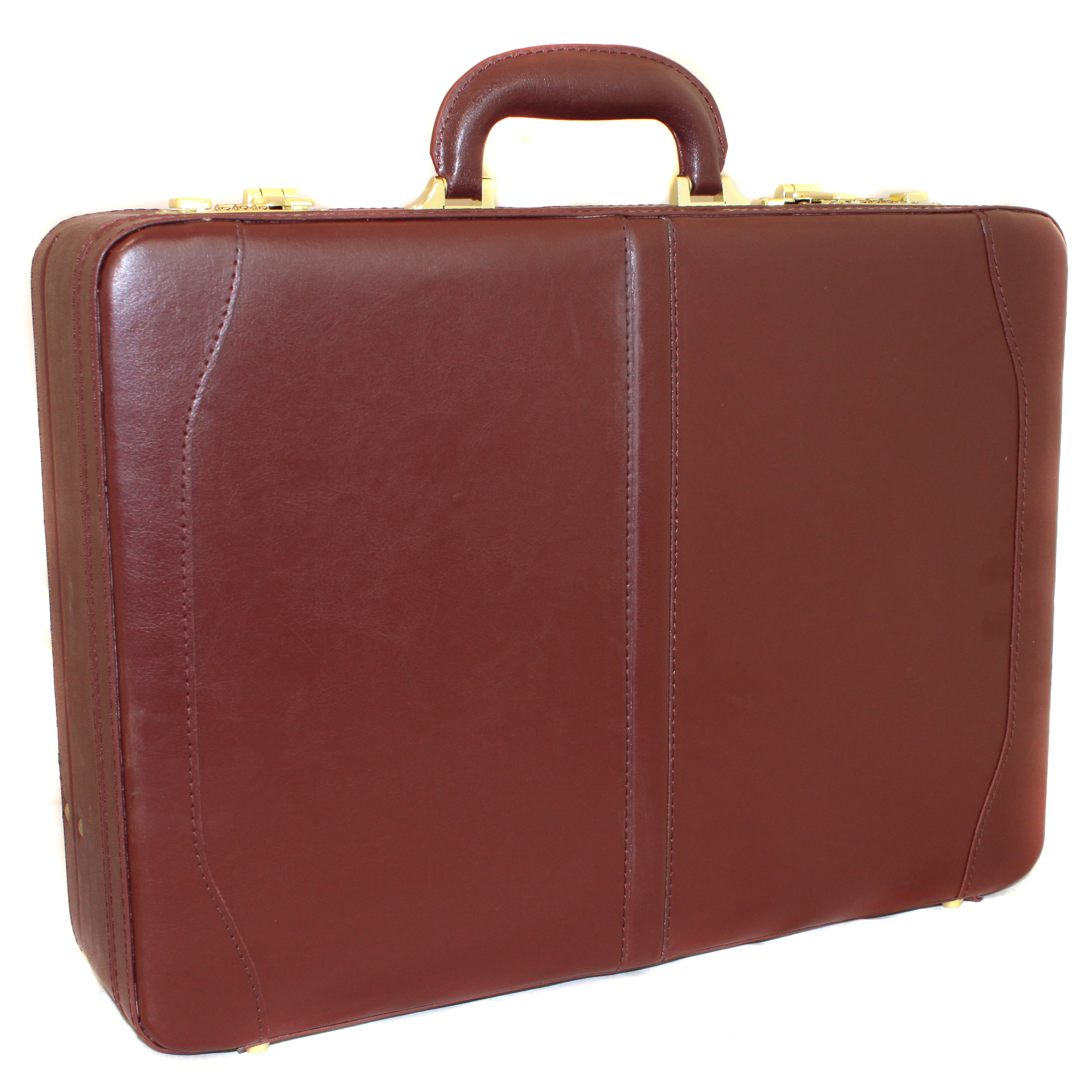 Avenues Executive Leather Expandable Attache Case - Free Shipping Today -  Overstock.com - 11629077