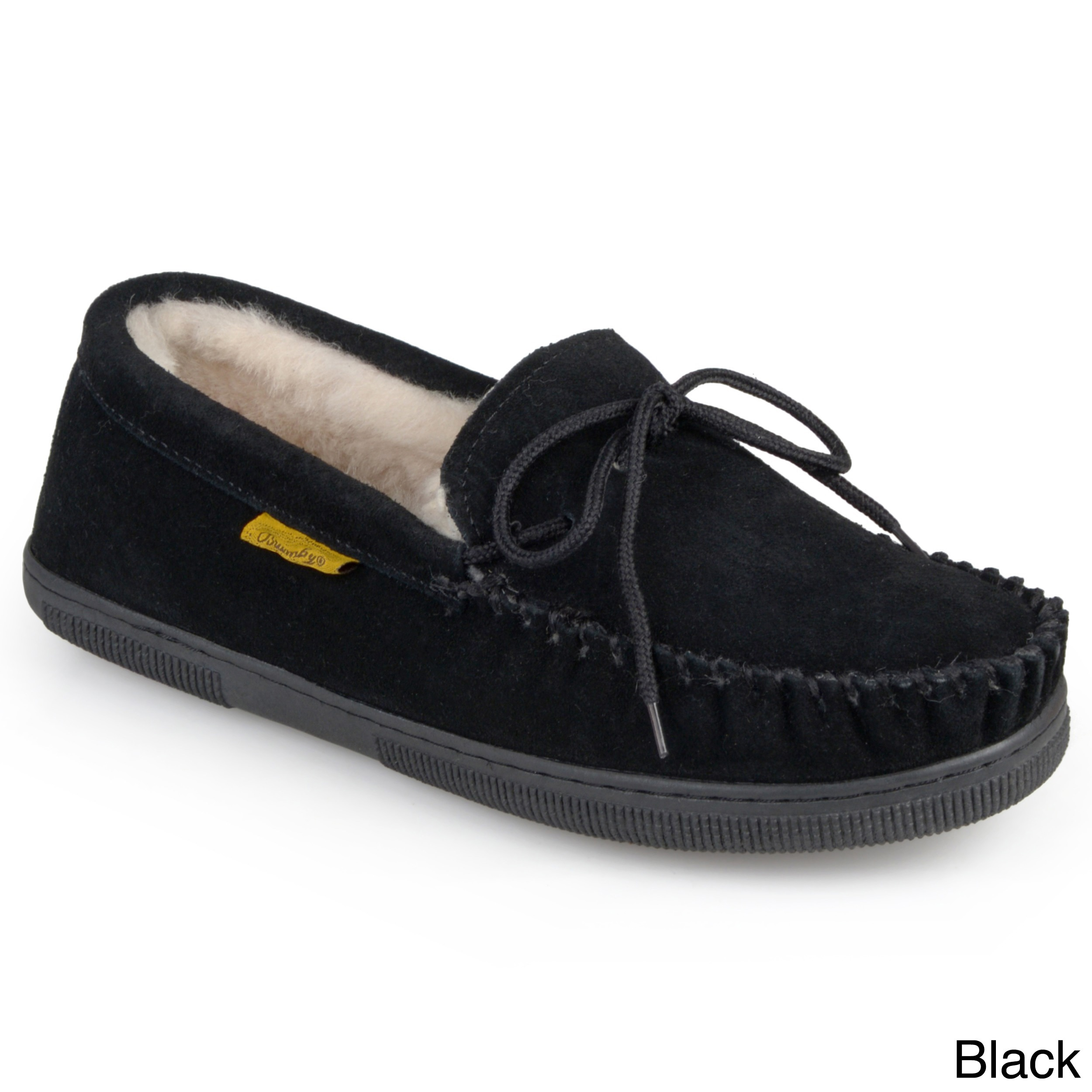aa9c29a89c0 Shop Men s Moccasin Sheepskin Slippers - Free Shipping Today - Overstock -  3572508