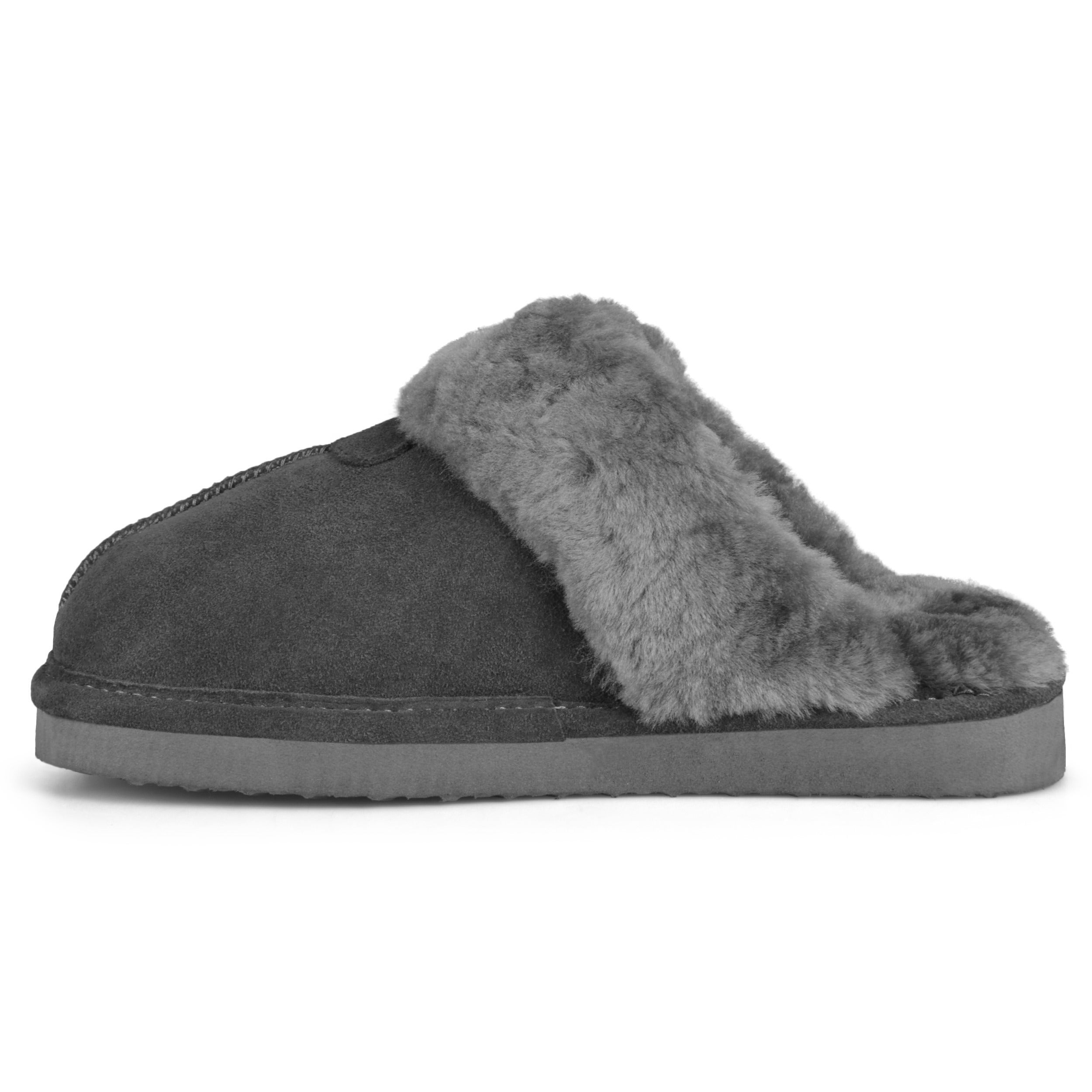 1f88f318510 Shop Brumby Women s Backless Sheepskin Slippers - Free Shipping Today -  Overstock - 3572524