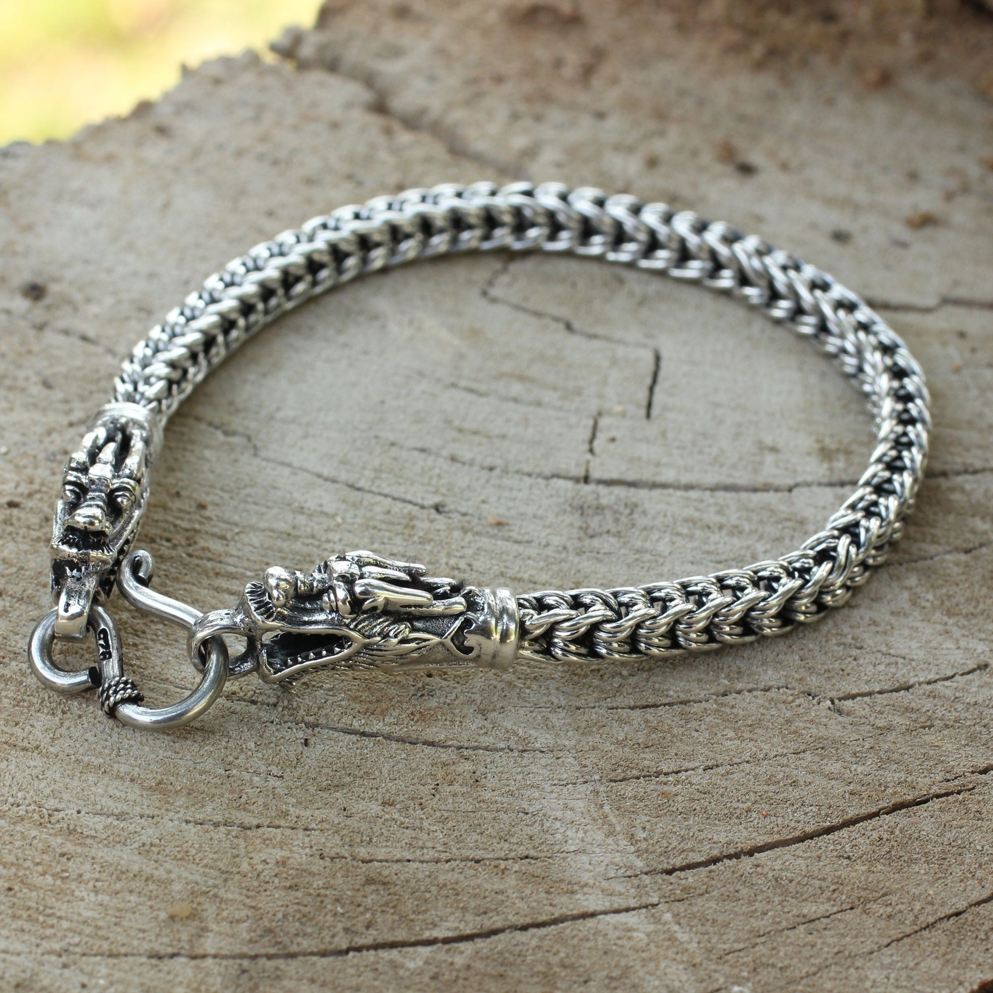 hook products cm tribal in silver matau sterling anklet small maori charm hei fish