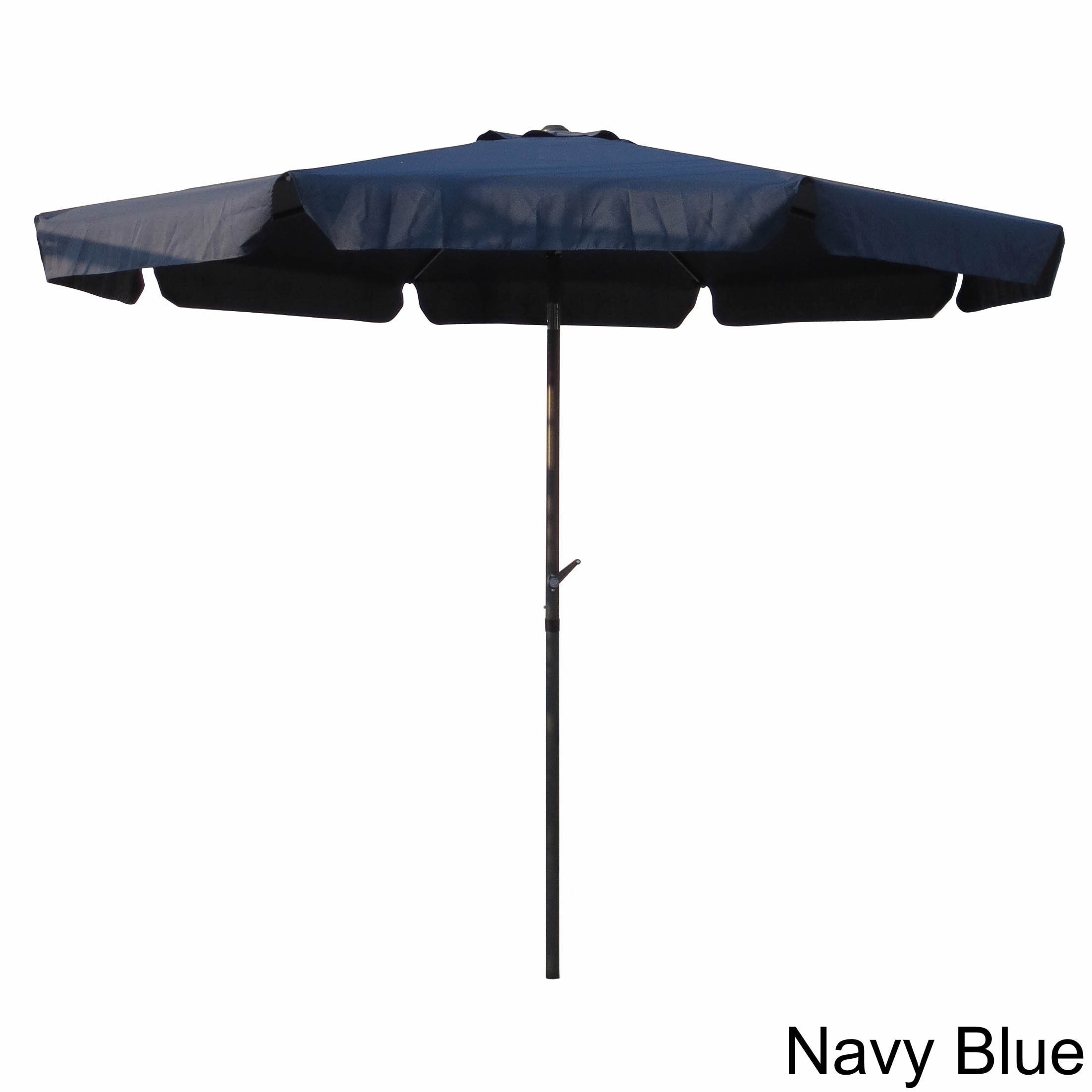 Shop International Caravan Aluminum 10 Foot Patio Umbrella On Sale Free Shipping Today Overstock Com 3678756