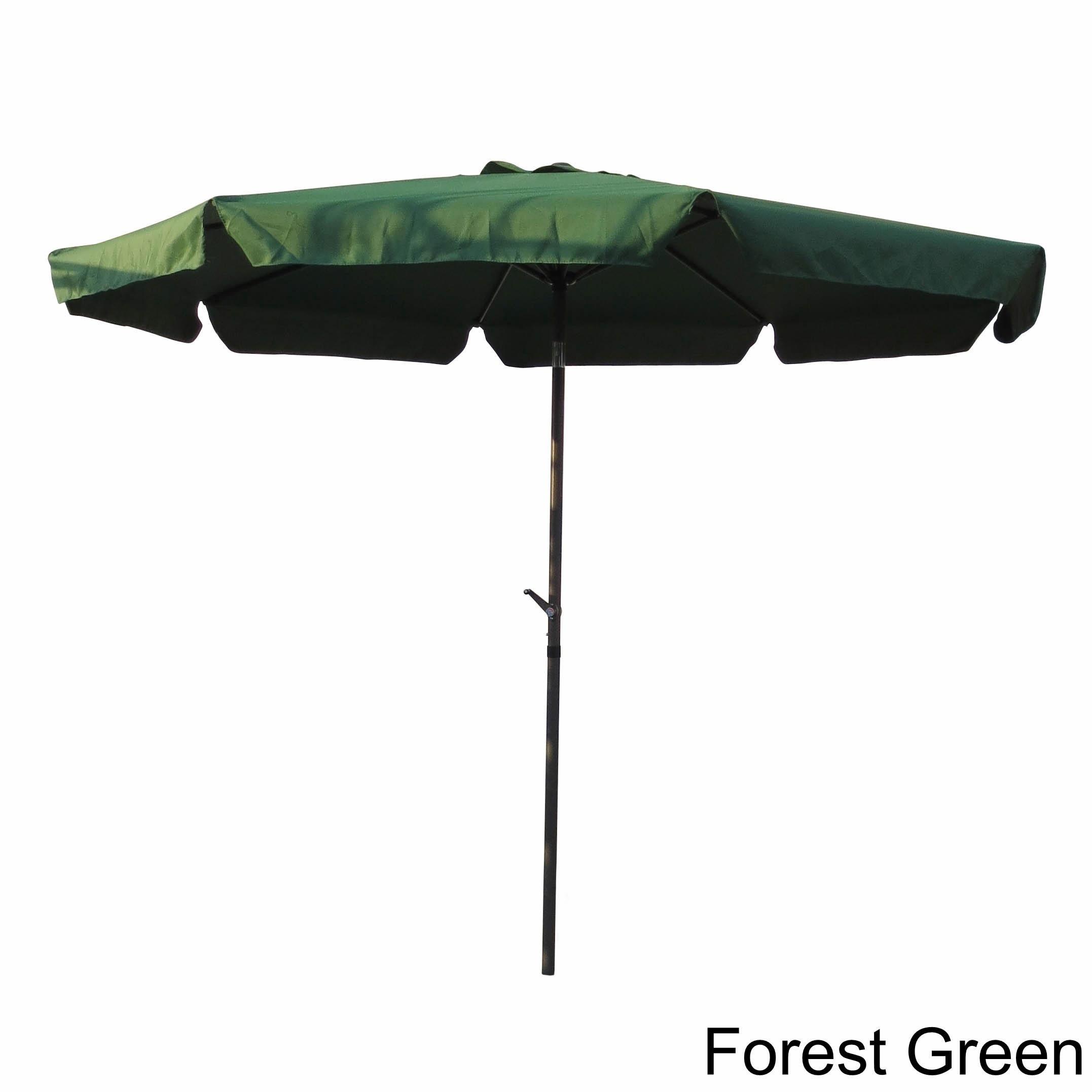 Shop International Caravan Aluminum 10 Foot Patio Umbrella On Sale