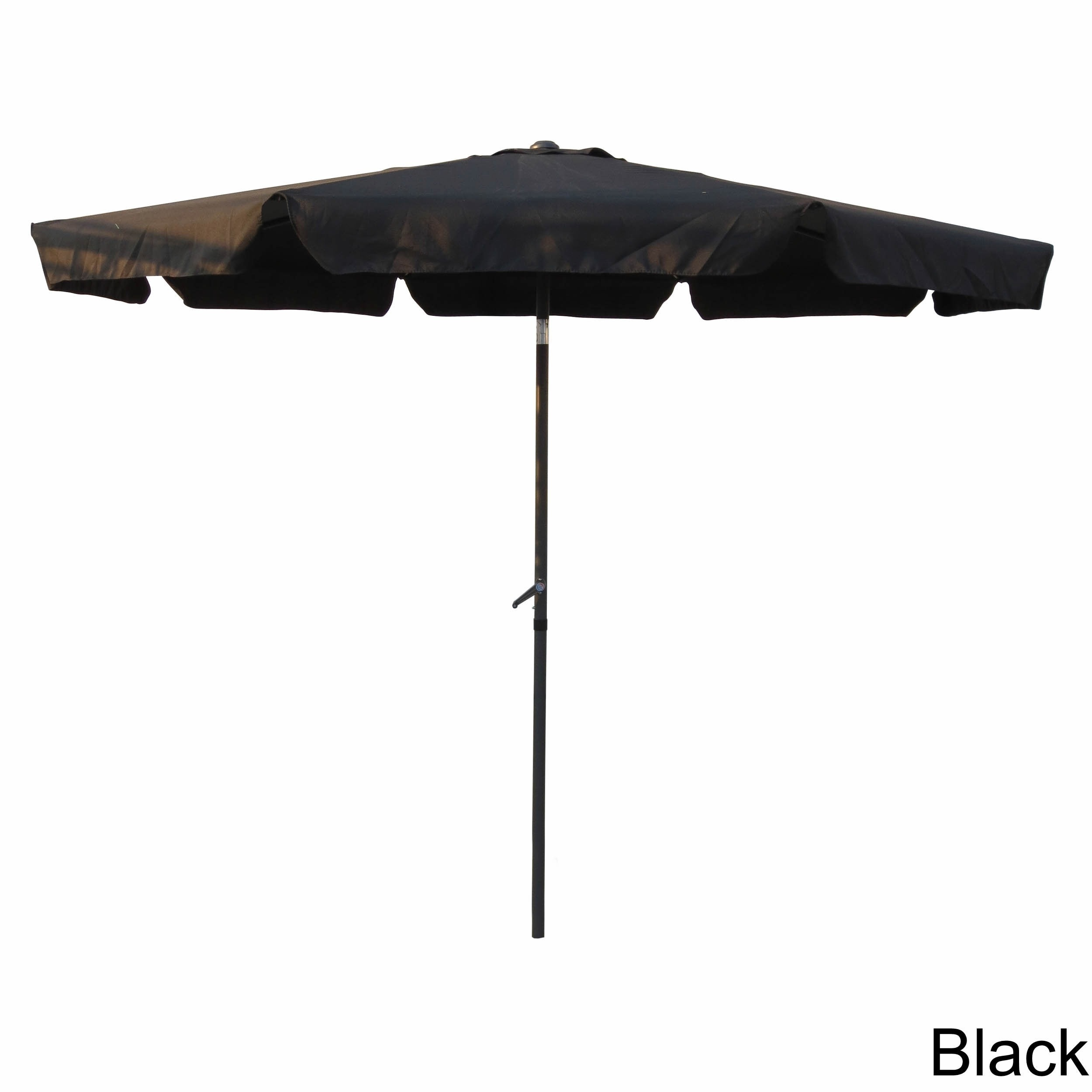 Shop International Caravan Aluminum 10 Foot Patio Umbrella   On Sale   Free  Shipping Today   Overstock.com   3678756