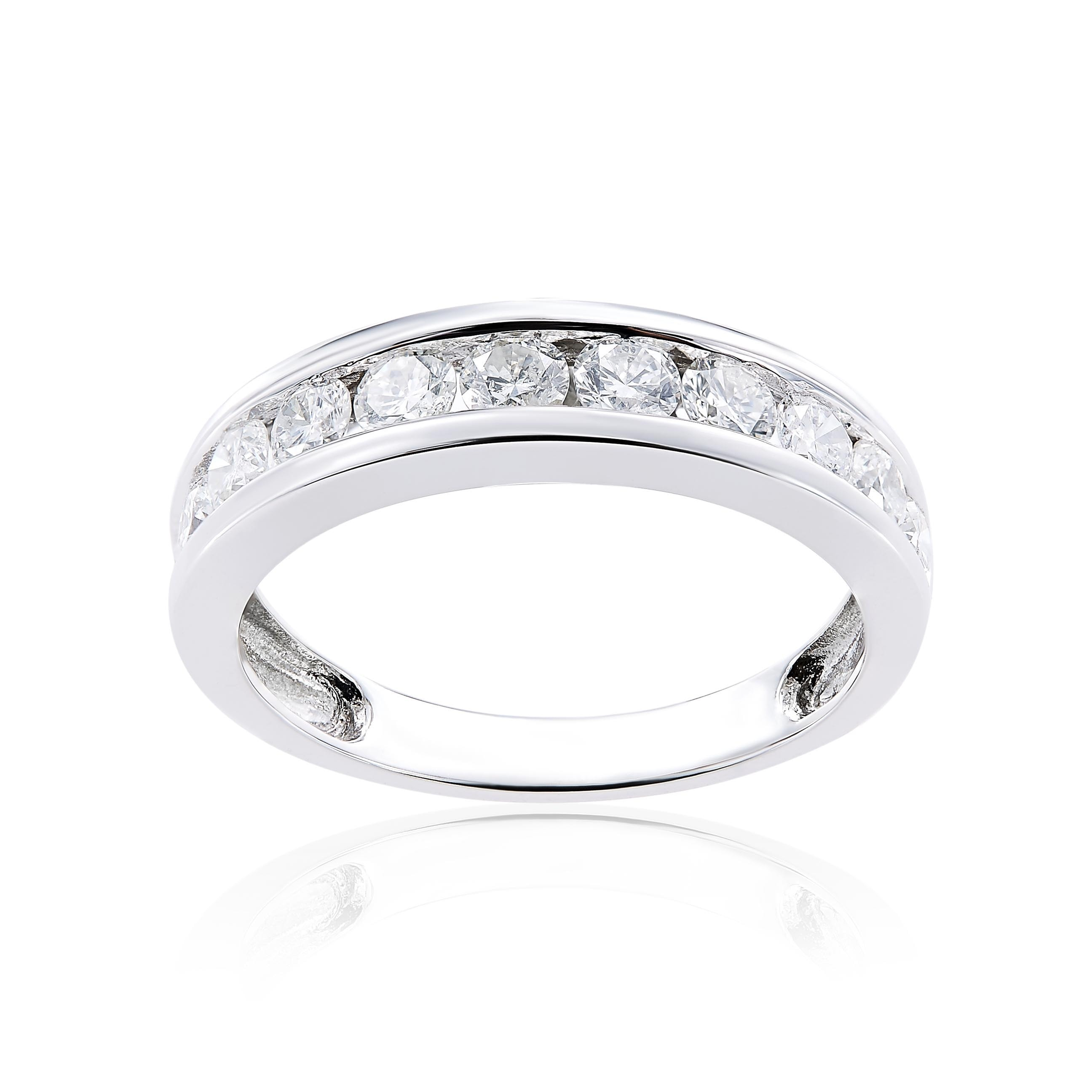 pave bands of colin wedding cowie dash anniversary channel set dot elegant band rings