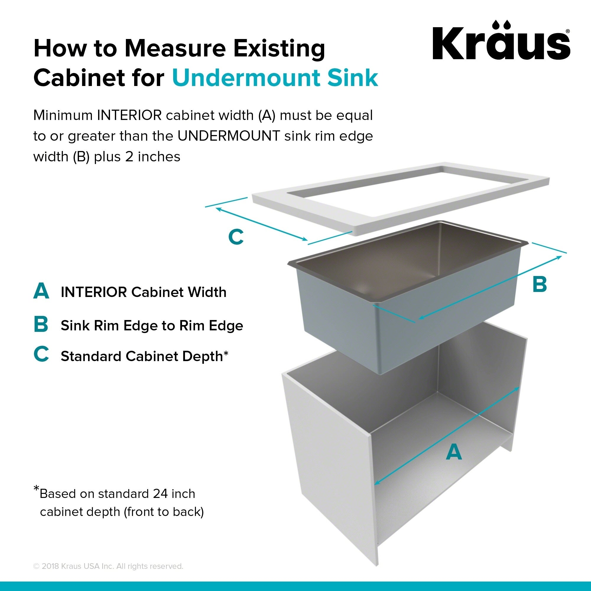 Kraus Khu101 23 Undermount In 16g 1 Bowl Satin Stainless Steel Kitchen Sink Grid Strainer Towel Free Shipping Today 3730988