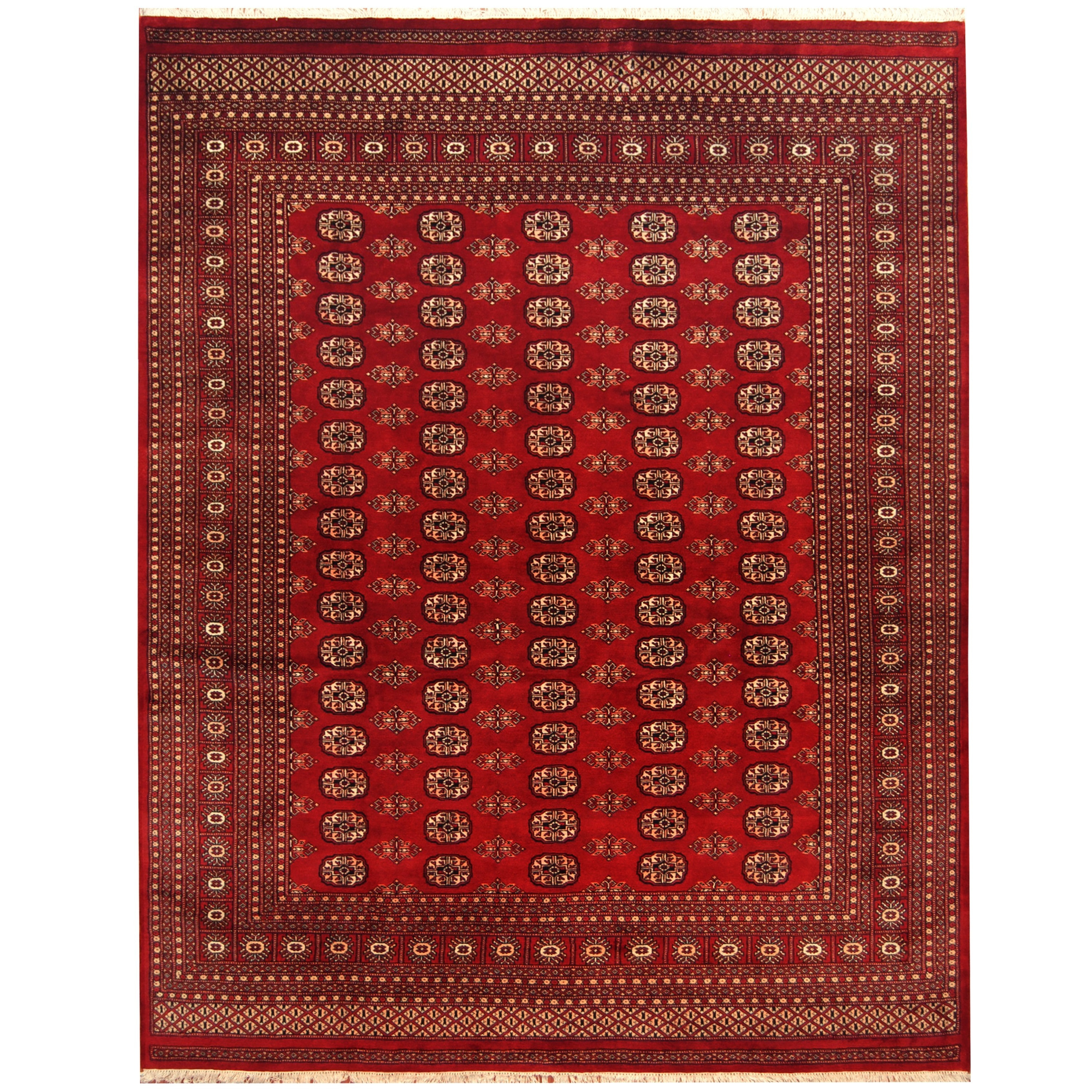 Herat Oriental Stan Hand Knotted Bokhara Wool Rug 8 X 10 Free Shipping Today Com 11882262