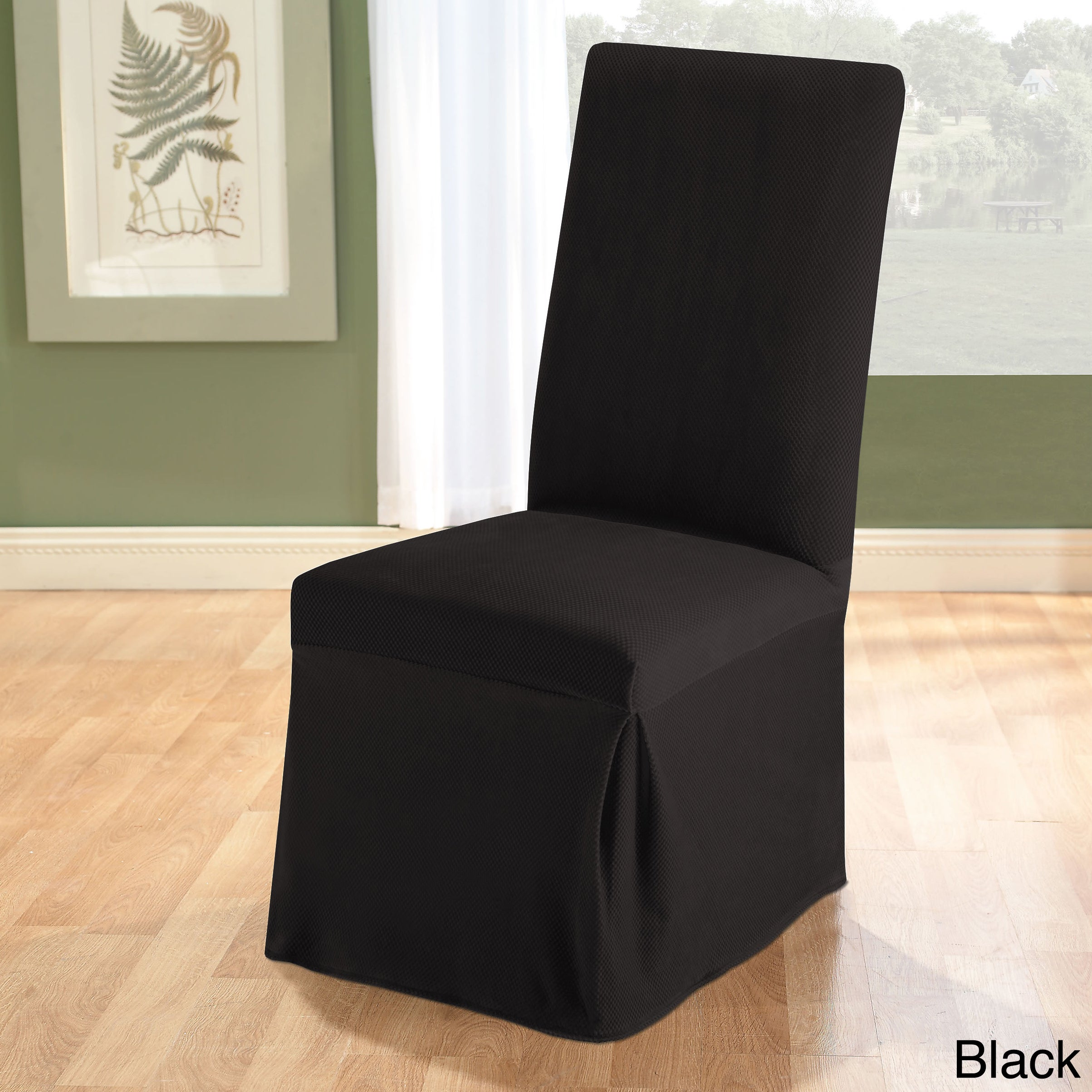 Stretch Dining Room Chair Slipcover - Free Shipping On Orders Over ...