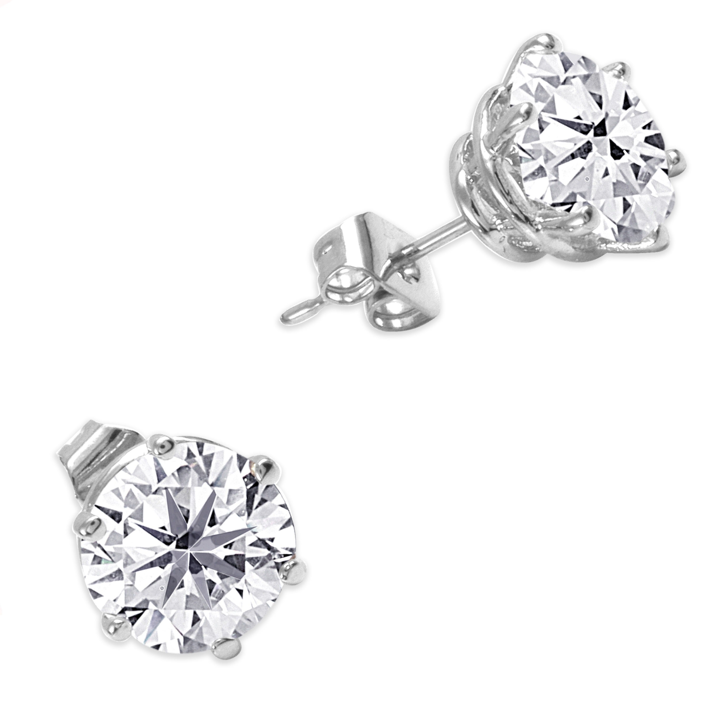 Nexte Jewelry Goldtone Or Silvertone Martini Set Stud Earrings Free Shipping On Orders Over 45 11917206