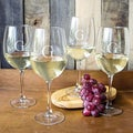 Personalized White Wine Glasses (Set of 4)