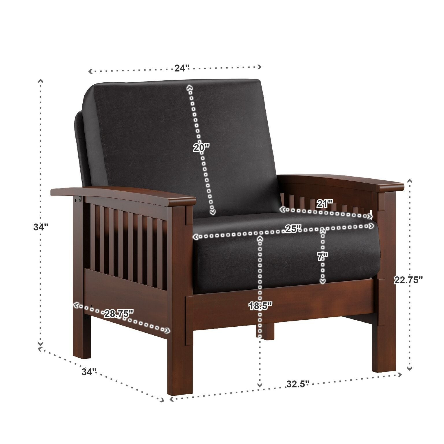 Genial Shop Hills Mission Style Oak Accent Chair By INSPIRE Q Classic   On Sale    Free Shipping Today   Overstock.com   3911905
