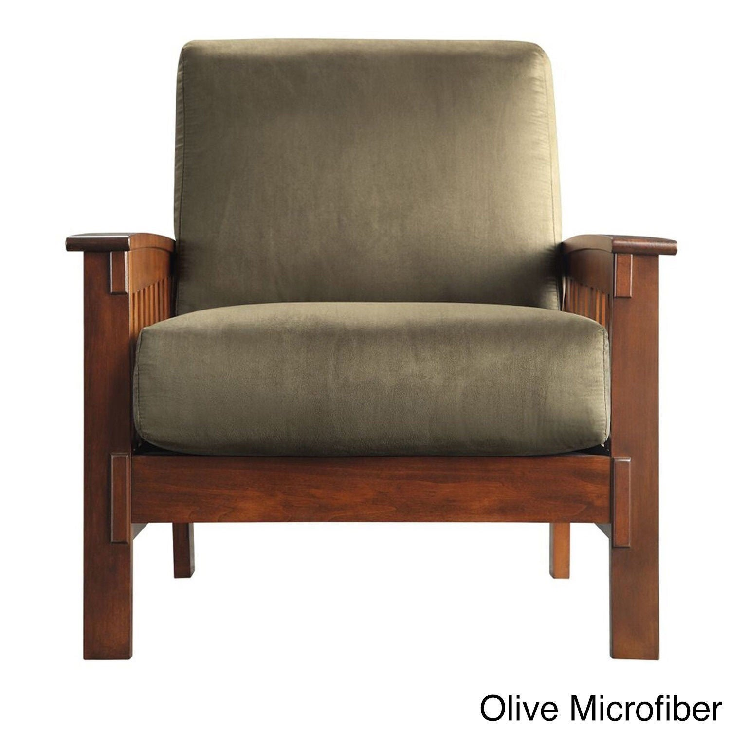 Ordinaire Shop Hills Mission Style Oak Accent Chair By INSPIRE Q Classic   Free  Shipping Today   Overstock.com   3911905