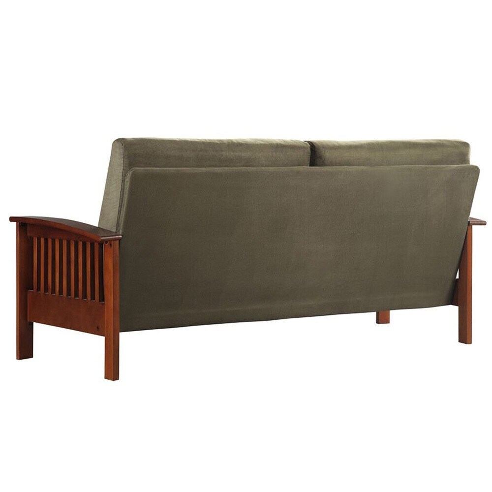 Attirant Shop Hills Mission Style Oak Sofa By INSPIRE Q Classic   On Sale   Free  Shipping Today   Overstock.com   3911910