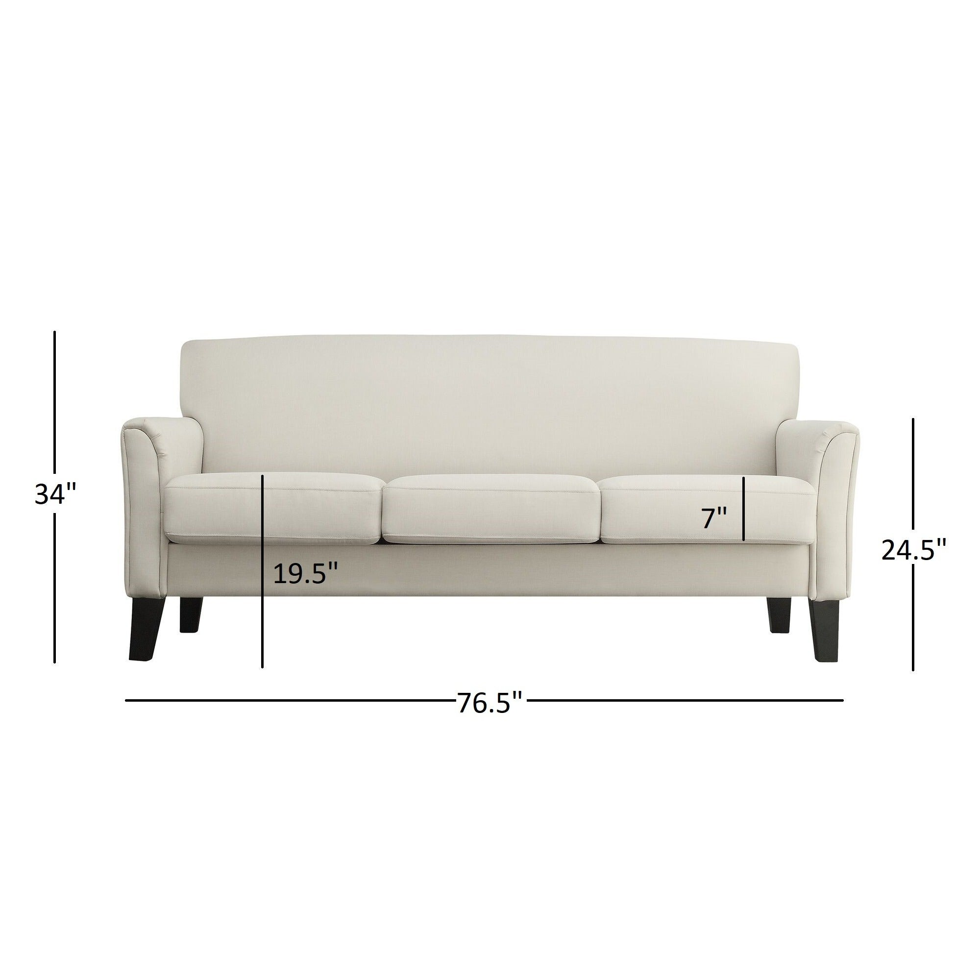 Shop Uptown Modern Sofa By INSPIRE Q Classic   On Sale   Free Shipping  Today   Overstock.com   3911915