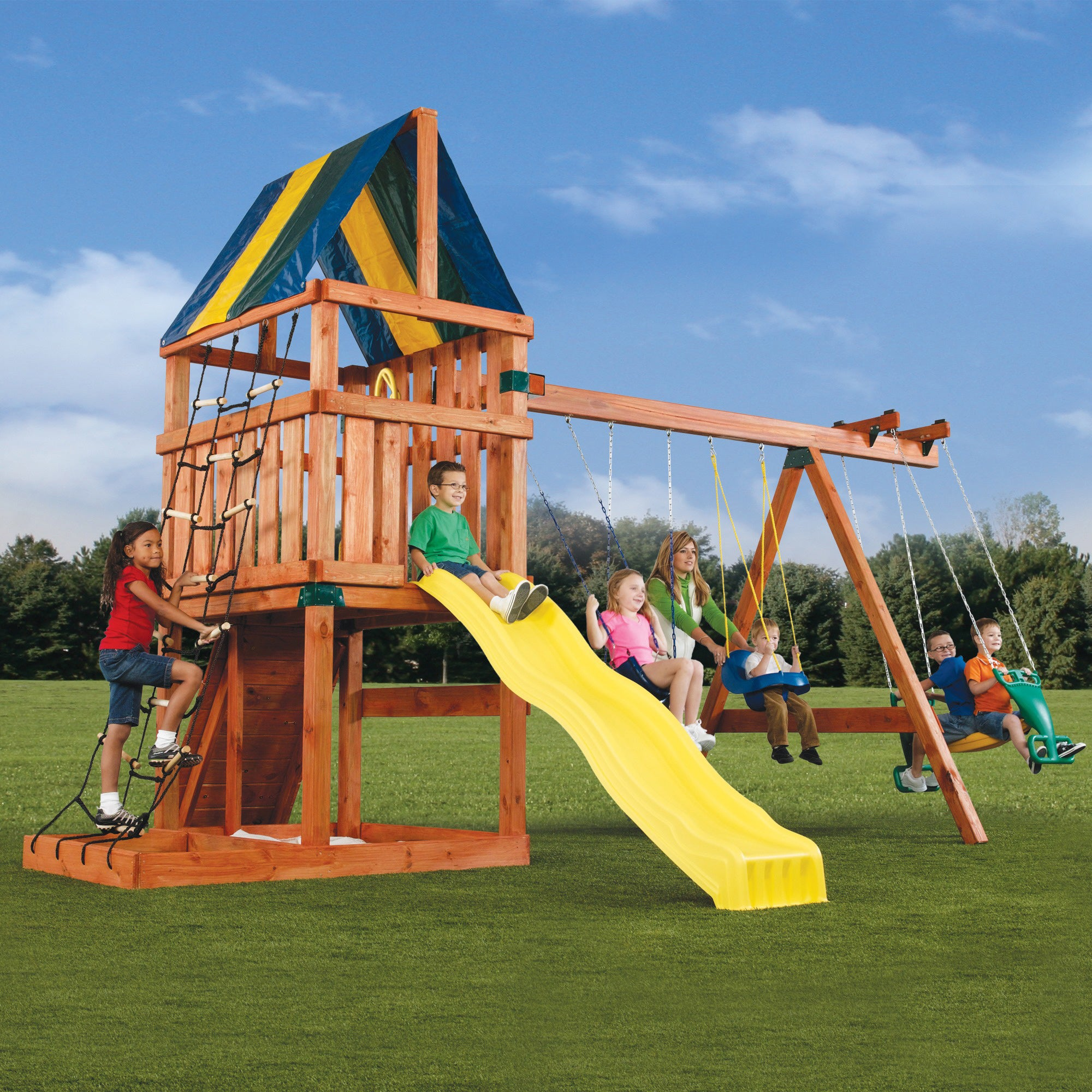 Shop Alpine Custom Swing Set Hardware Kit Free Shipping Today