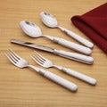 Ginkgo Le Prix 20-piece White Flatware Set