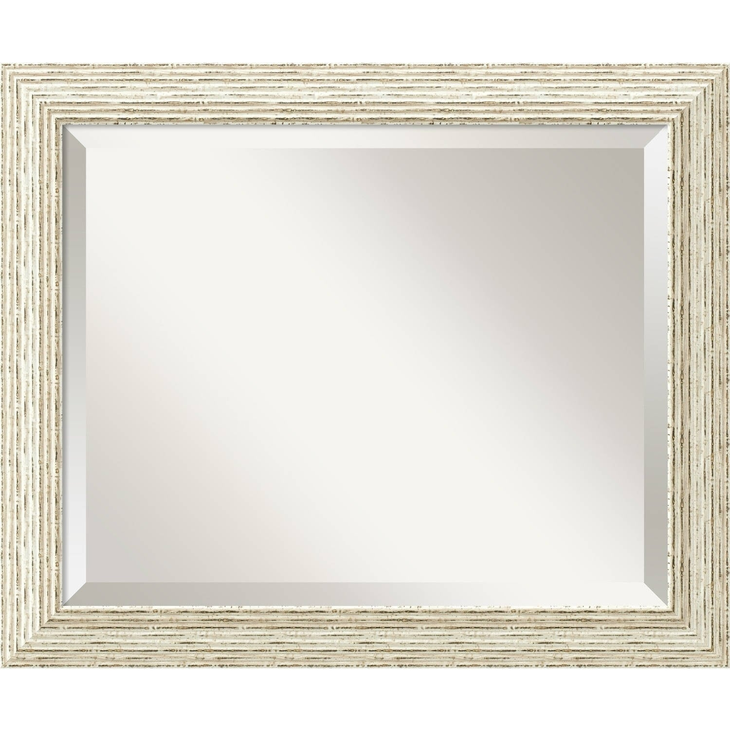 Havenside Home Buckroe Cape Cod White Wash Wood Wall Mirror Free Shipping Today 22801850
